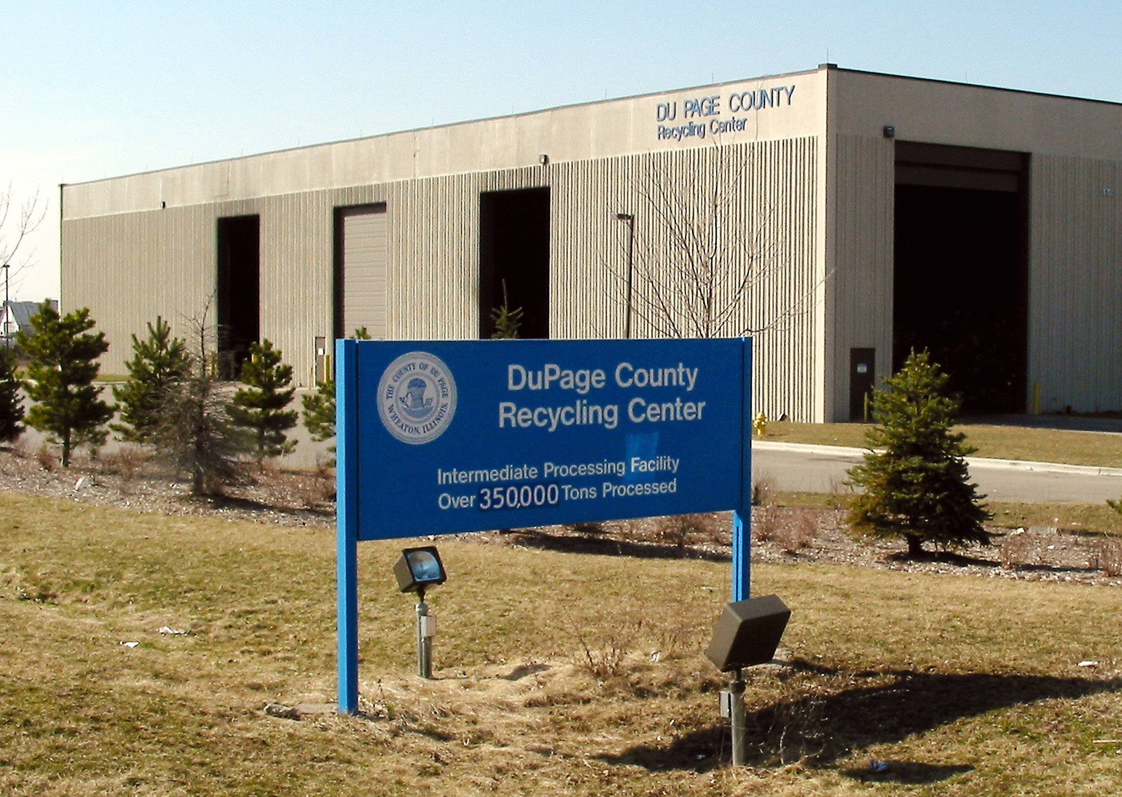 The DuPage County Recycling Center is closing in Carol Stream.