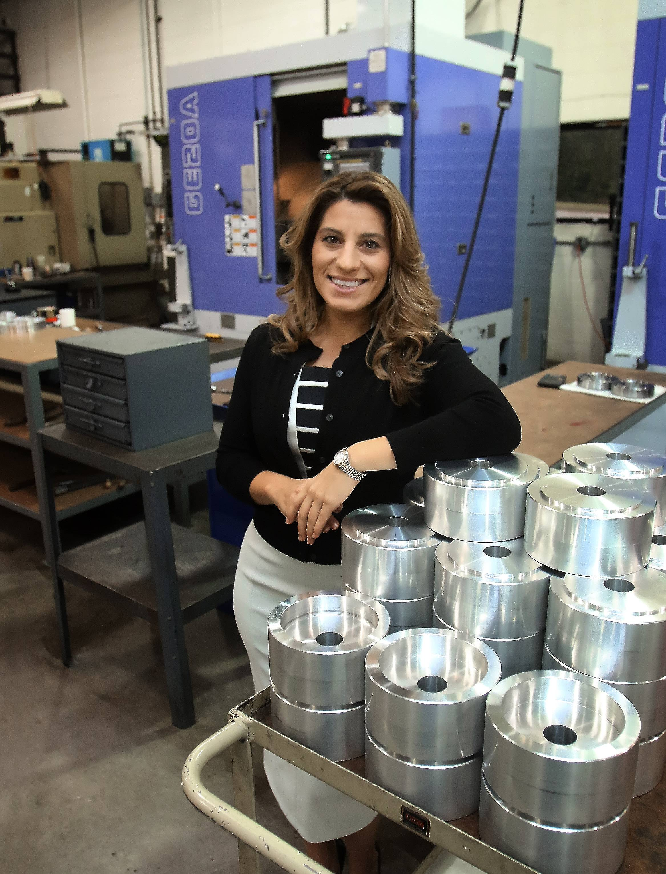 Shifting gears: Founder's daughter pulls HM Manufacturing out of trouble, earning CEO title