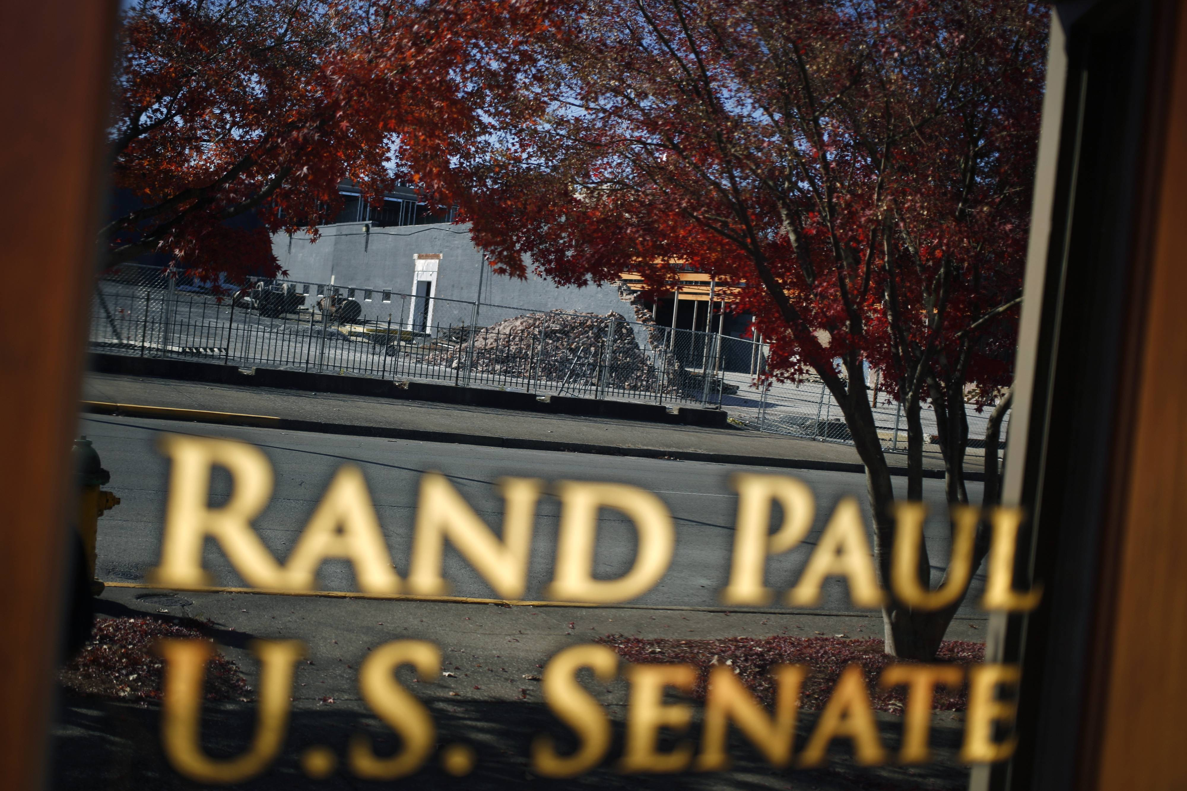 The office of Sen. Rand Paul in Bowling Green, Kentucky