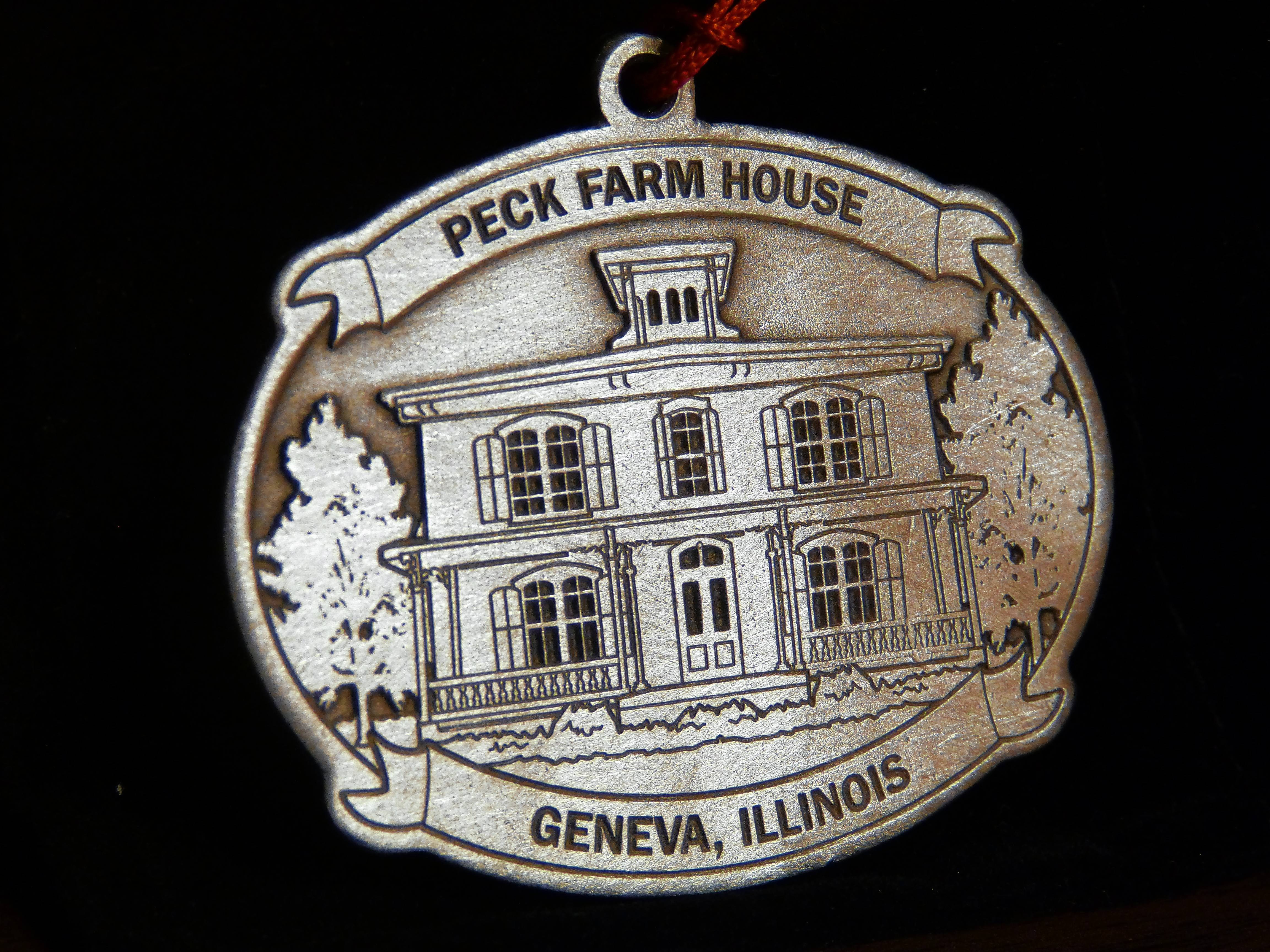 City of Geneva's 2017 ornament to feature Peck Farm House.