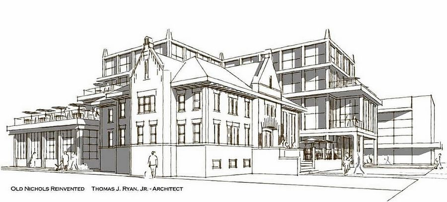 Architects envision old Naperville library as restaurant, welcome center
