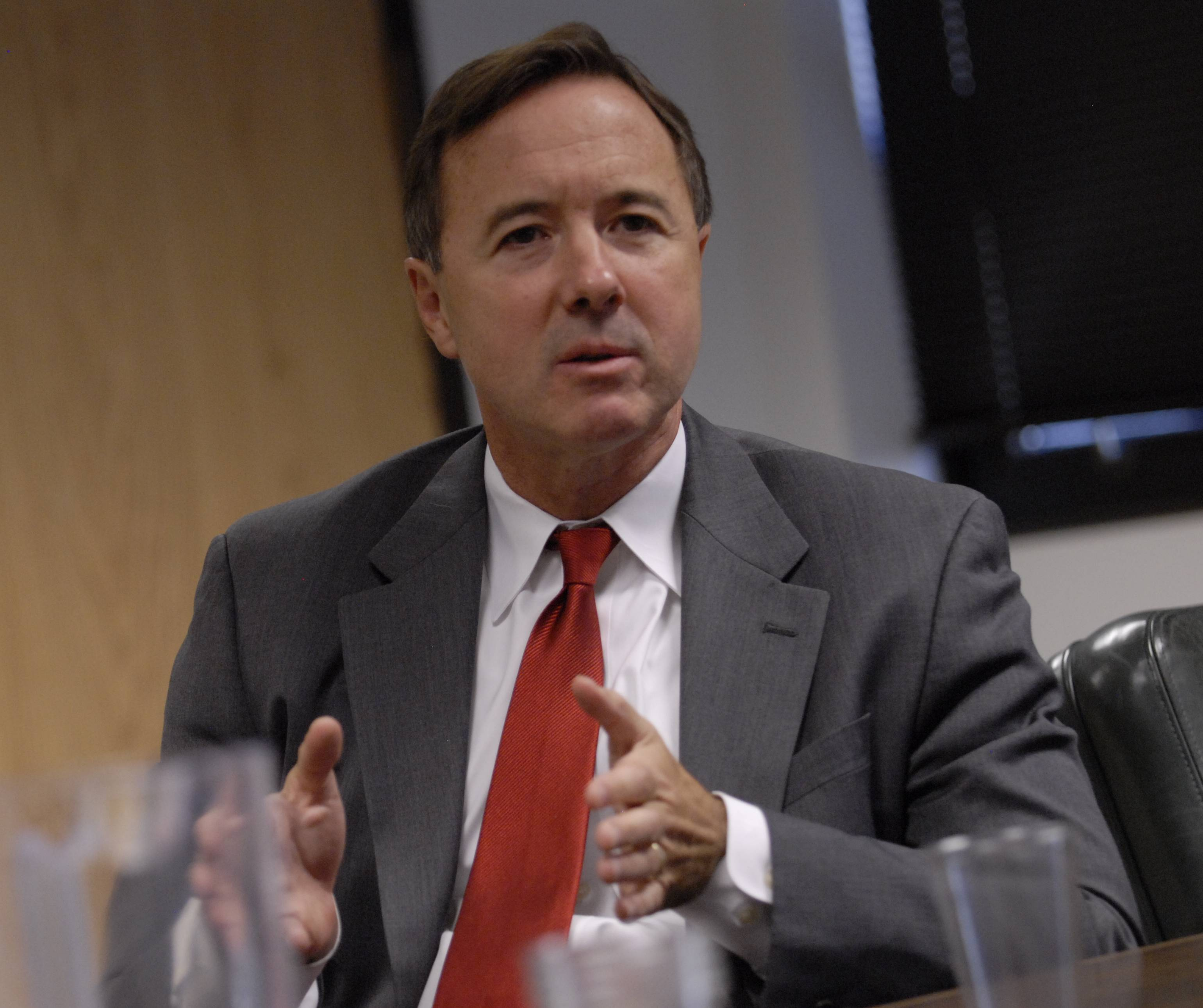 Forrest Claypool, as a candidate for Cook County assessor, interviewed with the Daily Herald in 2010.