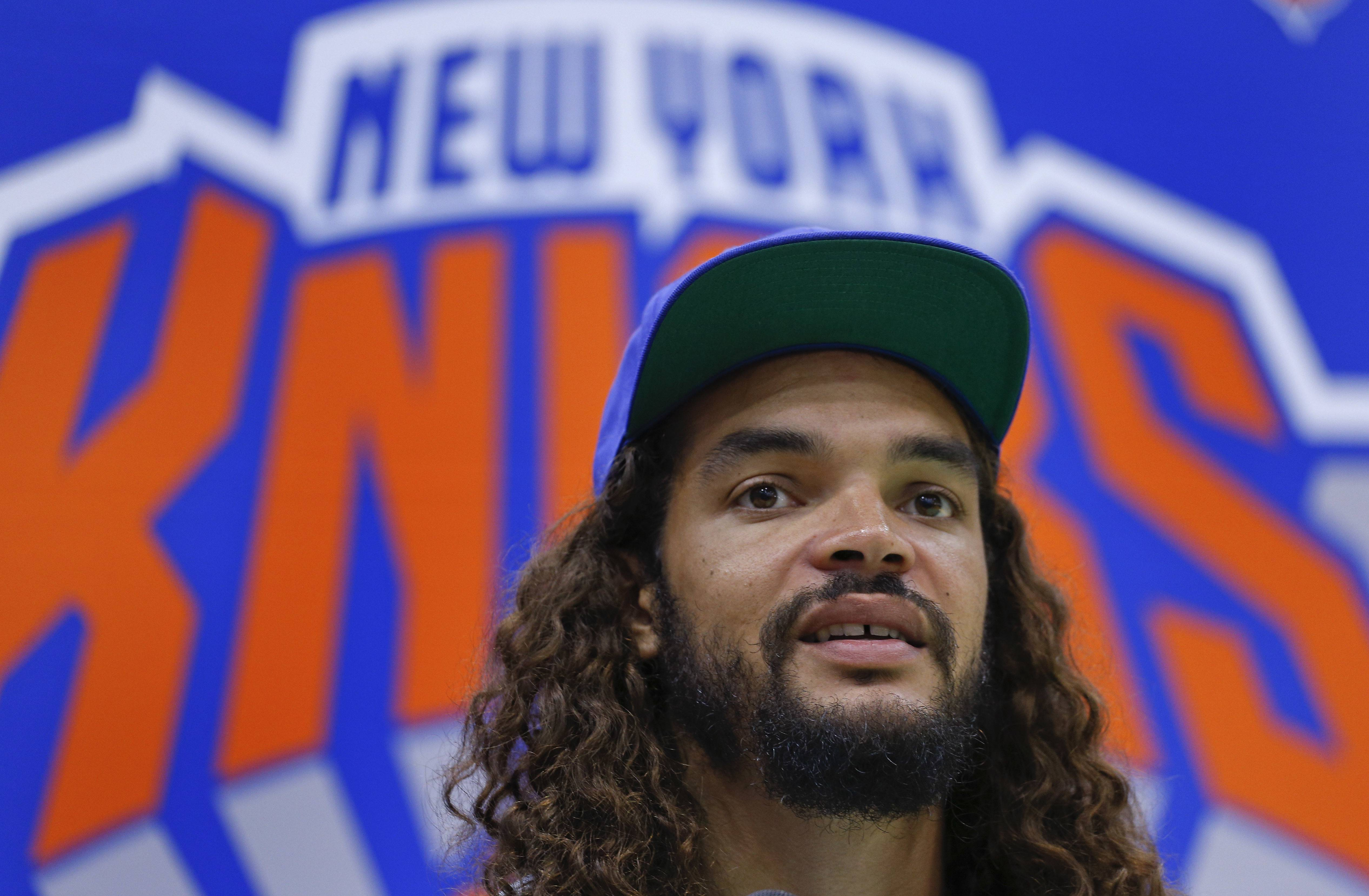 Noah disappointed in inactive status with Knicks
