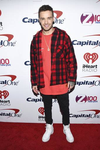 Liam Payne attends Z100's iHeartRadio Jingle Ball at Madison Square Garden on Friday, Dec. 8, 2017, in New York. (Photo by Charles Sykes/Invision/AP)