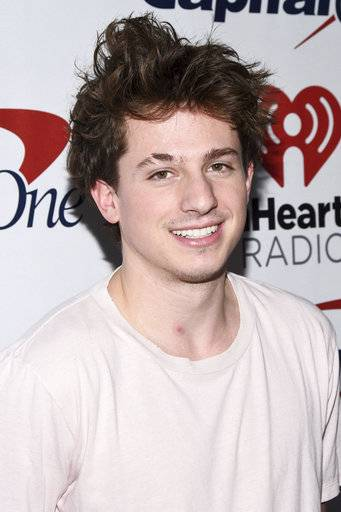Charlie Puth attends Z100's iHeartRadio Jingle Ball at Madison Square Garden on Friday, Dec. 8, 2017, in New York. (Photo by Charles Sykes/Invision/AP)
