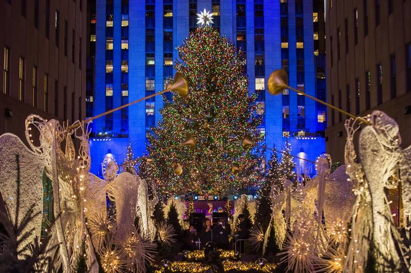 Trees, lights, holiday magic: Christmas events and displays across the U.S.
