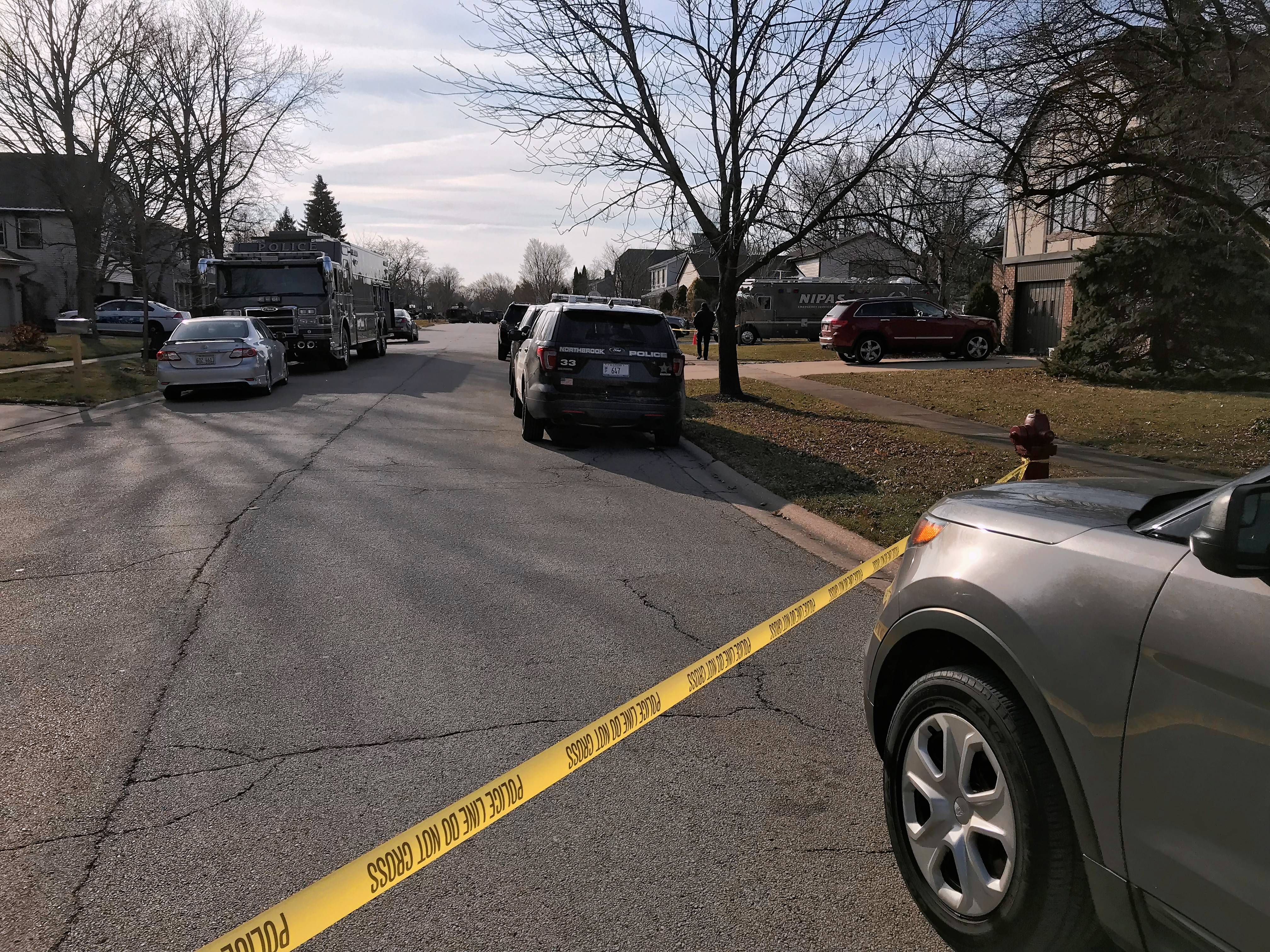An armed standoff that had Bartlett police asking residents living near Independence Drive to stay in their homes Sunday morning was resolved safely, authorities said.