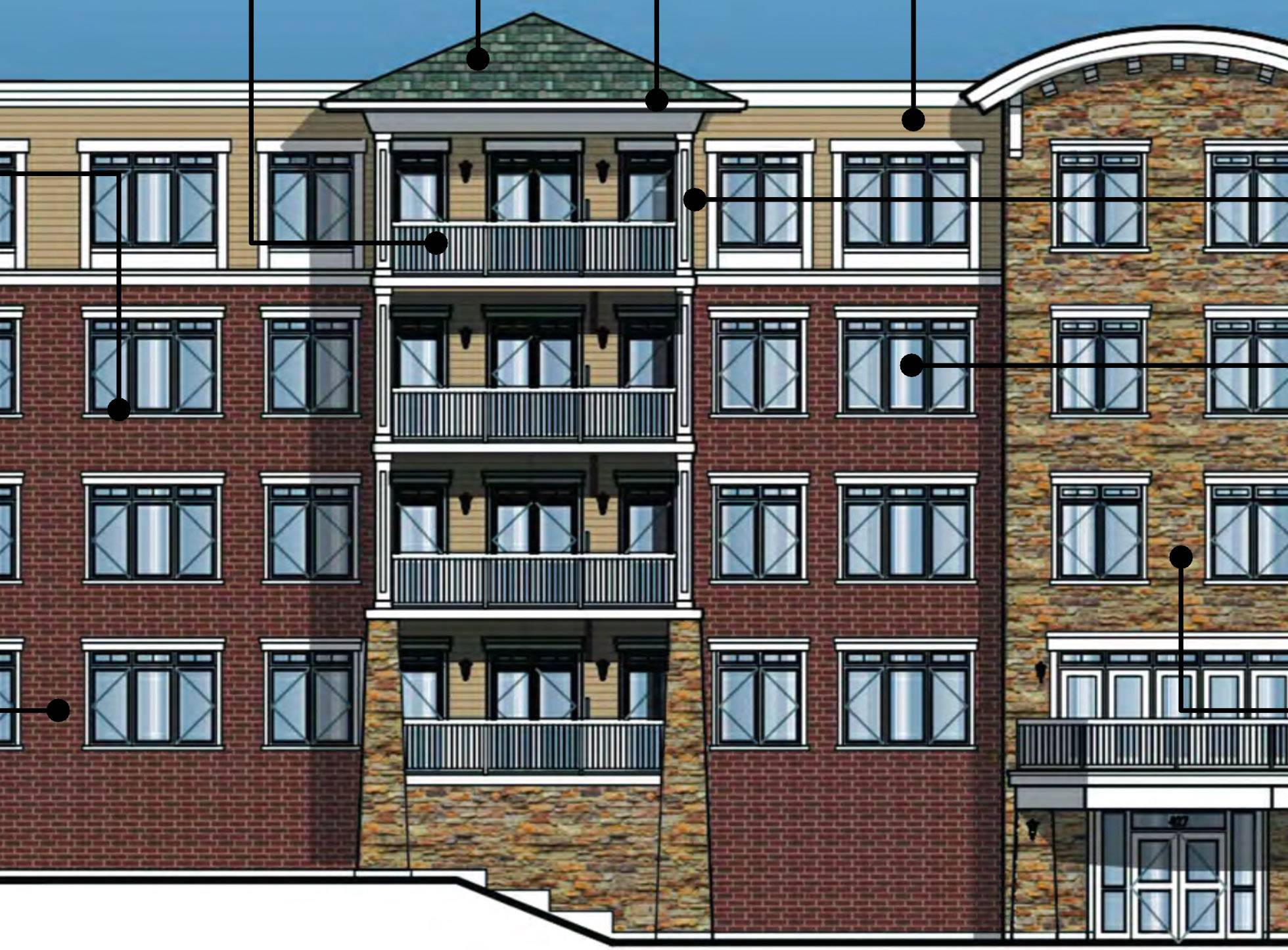 Weiss Development Co. is seeking approval to build a new residential building next to its existing River's Edge on the east side of Milwaukee Avenue in Vernon Hills. But residents of Rover's Edge oppose making the new units rentals.
