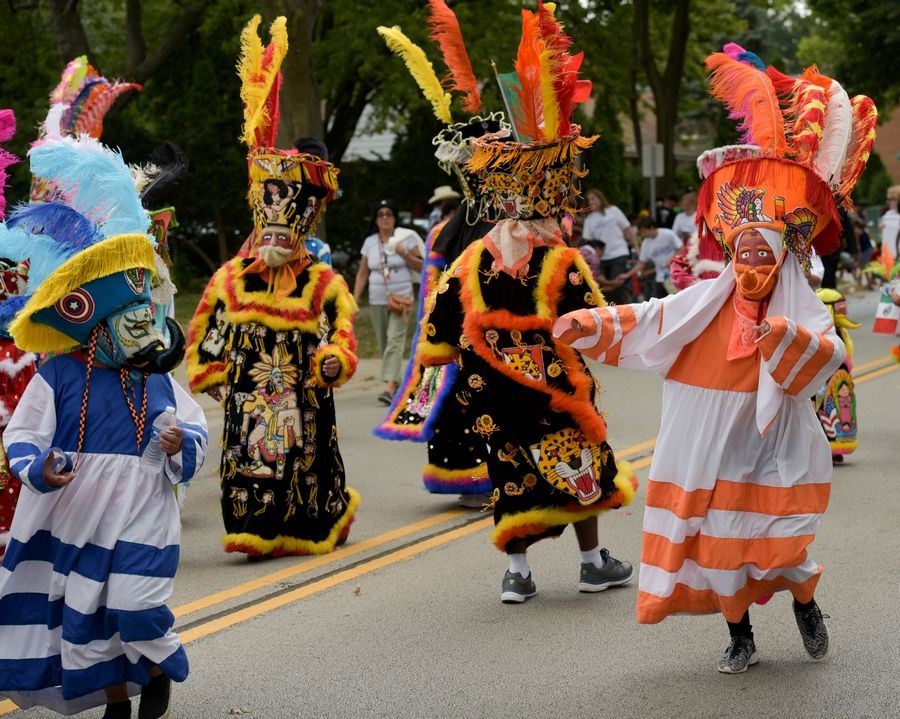 Hundreds of people lined the streets of West Chicago in September to watch dancers, classic cars and horseback riders during the city's Mexican Independence Day parade.
