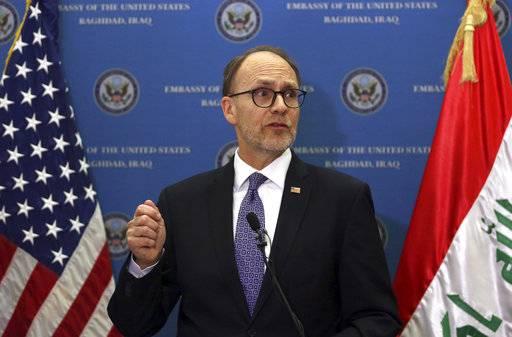 American diplomat: US looks to counter Iran in post-war Iraq
