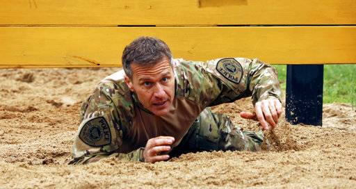Hyperactive Missouri Gov. Greitens touts his physical feats