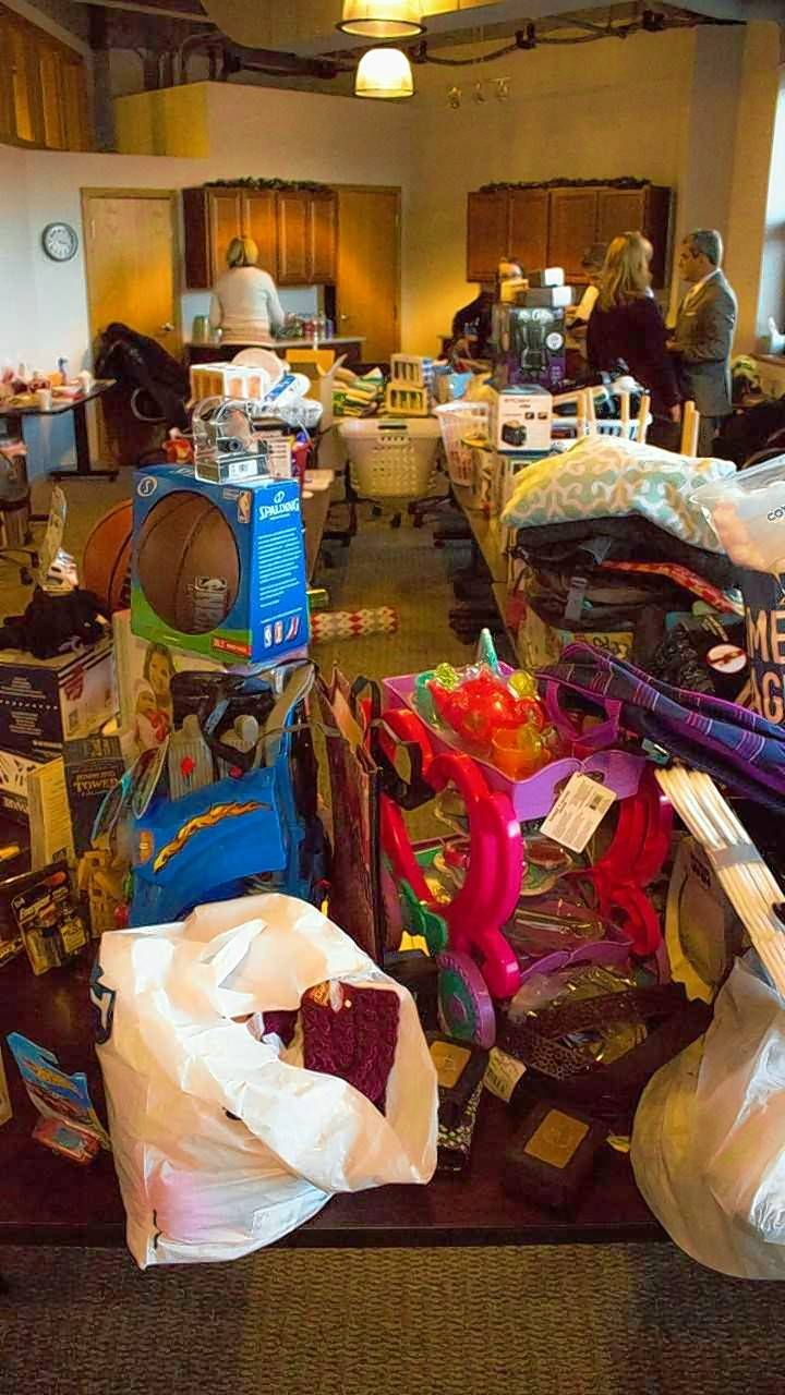 Sports gear, toys, cleaning supplies and toiletries are among the wish list items from 360 Youth Services in Naperville and Hesed House homeless services in Aurora that were purchased by hotel employees and others involved with the Hospitality Helps coalition in Naperville.