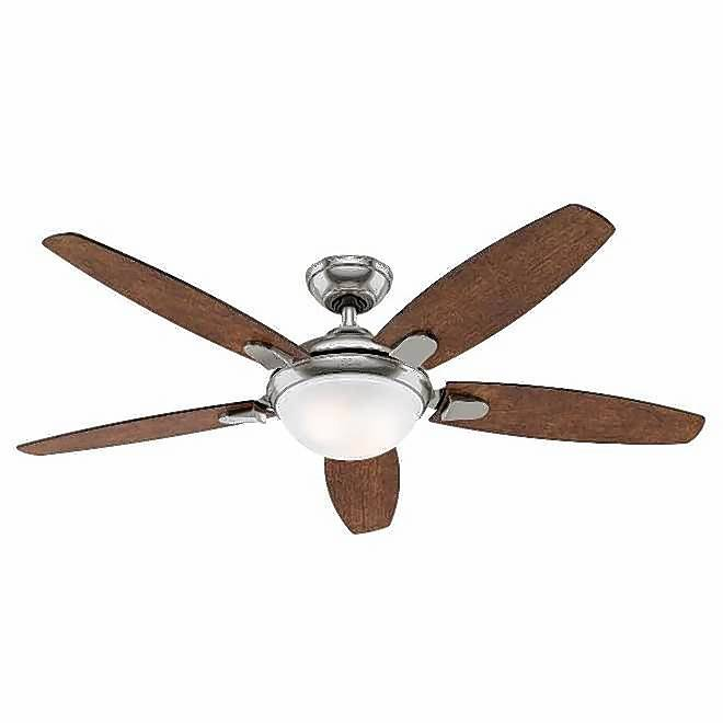 Costco and Hunter Contempo fan company are making customers aware of two ceiling fans that contained incorrect instructions on how to install the fan.