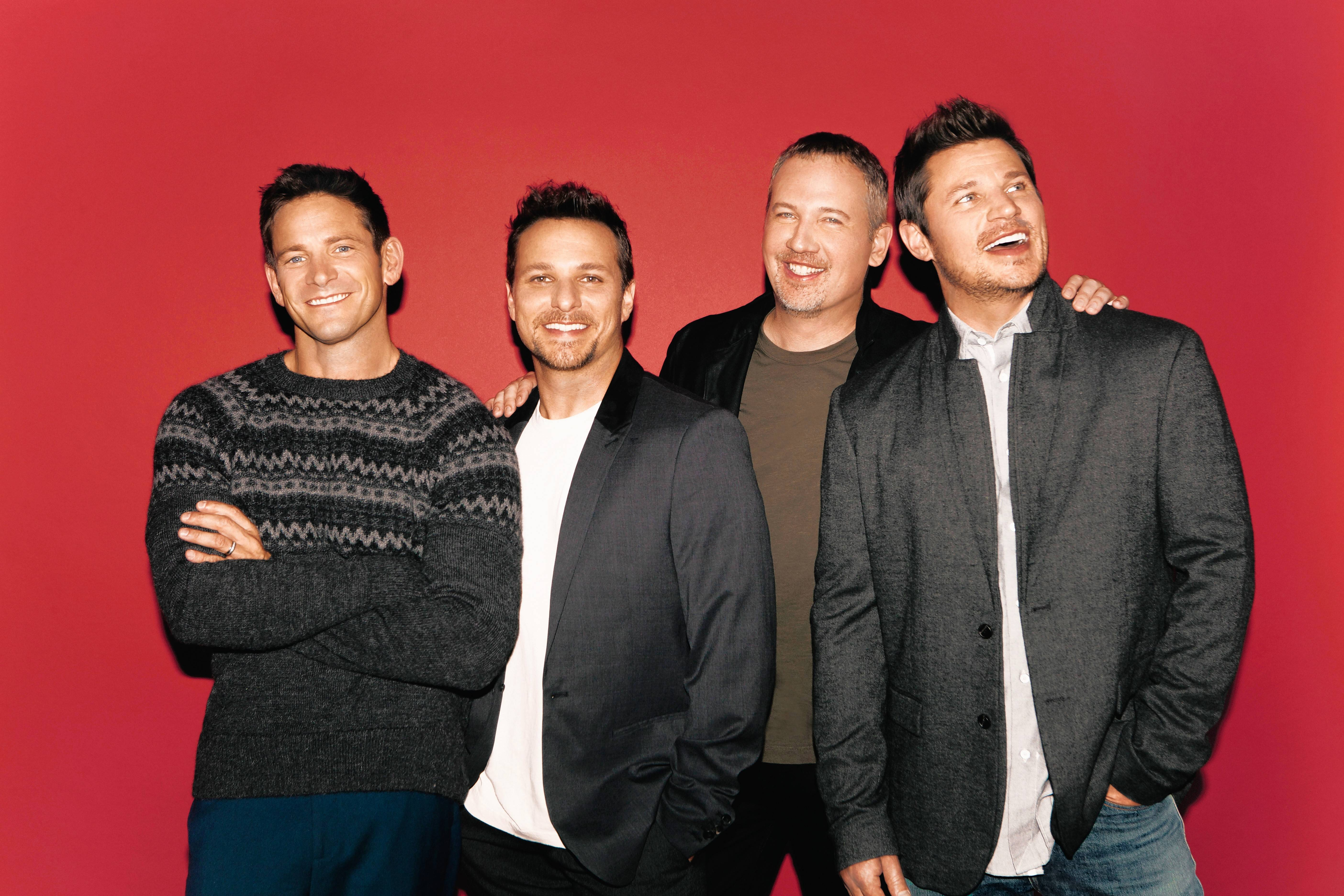 98 Degrees brings some Christmas spirit to the Genesee Theatre Saturday, Dec. 16.