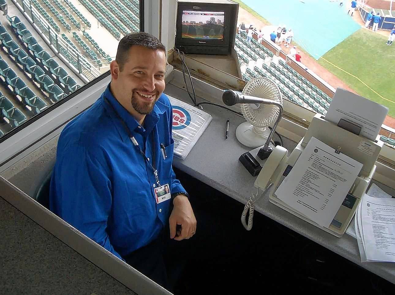 Mike Terson knows pro sports from his years as the public address announcer for weekend Cubs games at Wrigley Field and the Chicago Wolves hockey games. Terson says it's not right to treat youth sports the way we do professional sports.
