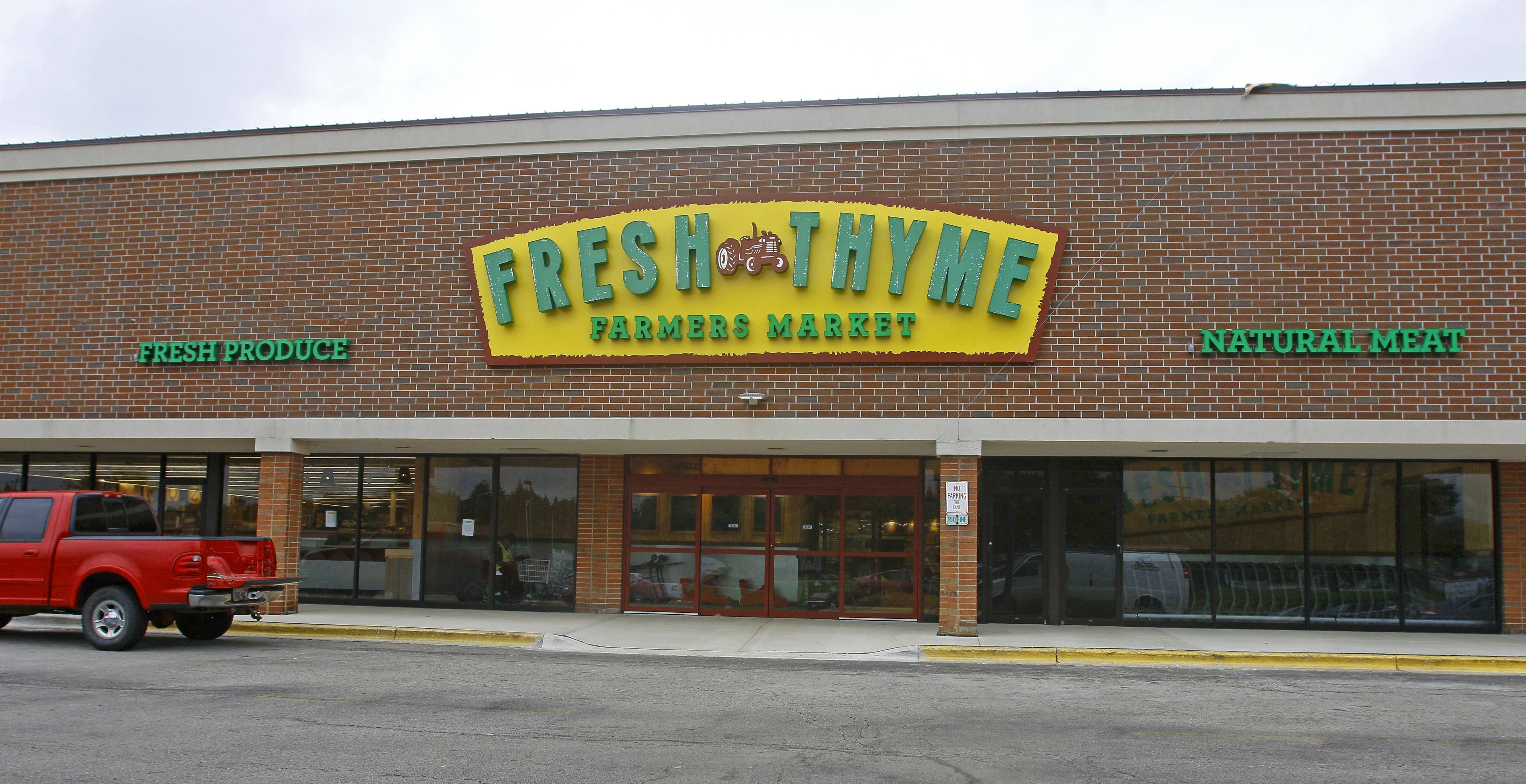 Daily Herald File photo, 2015 Fresh Thyme Farmers Market, which has a store in Naperville, plans to expand in 2018.