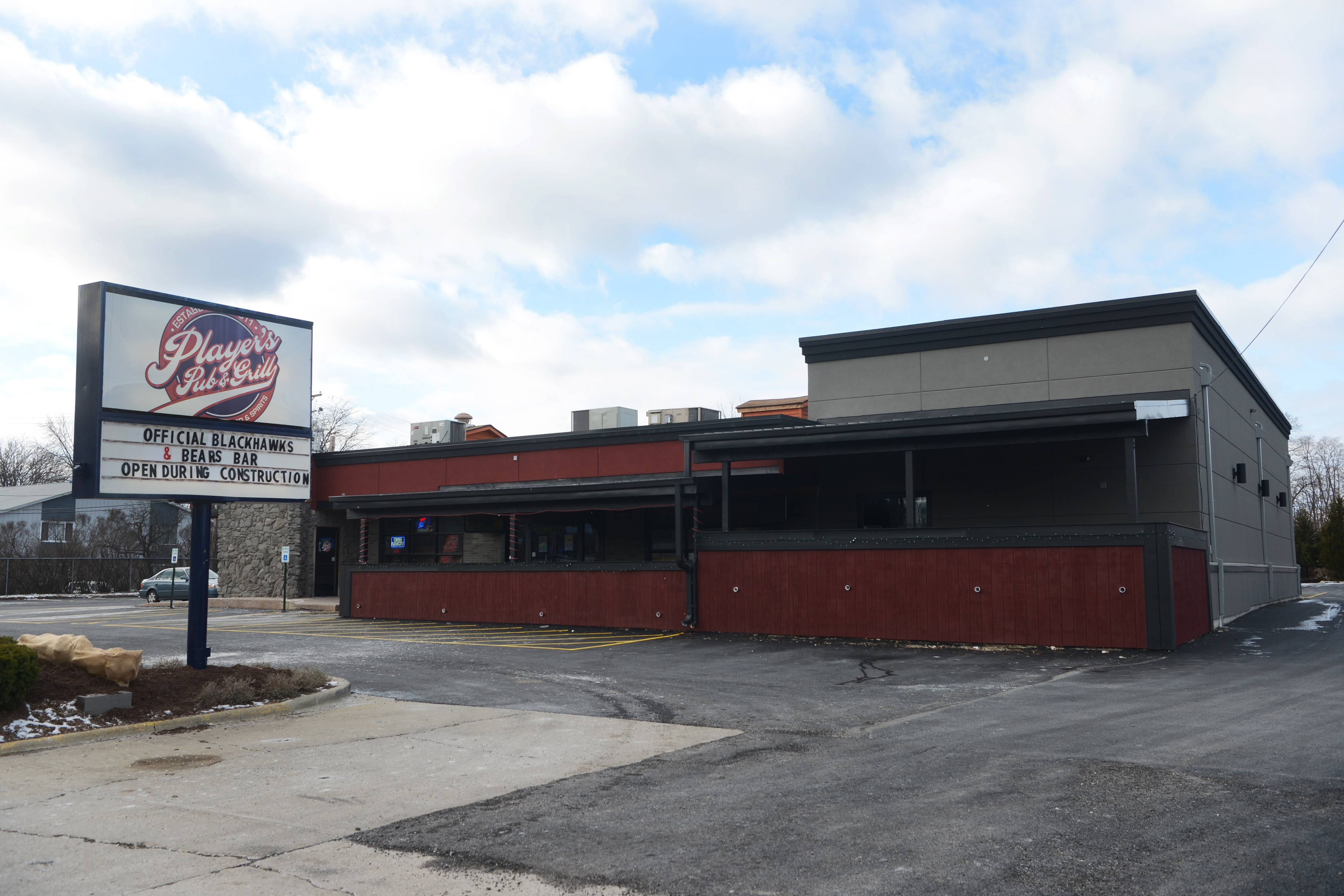 Player's Pub and Grill received the final part of a $500,000 payout to build an off-track betting addition.