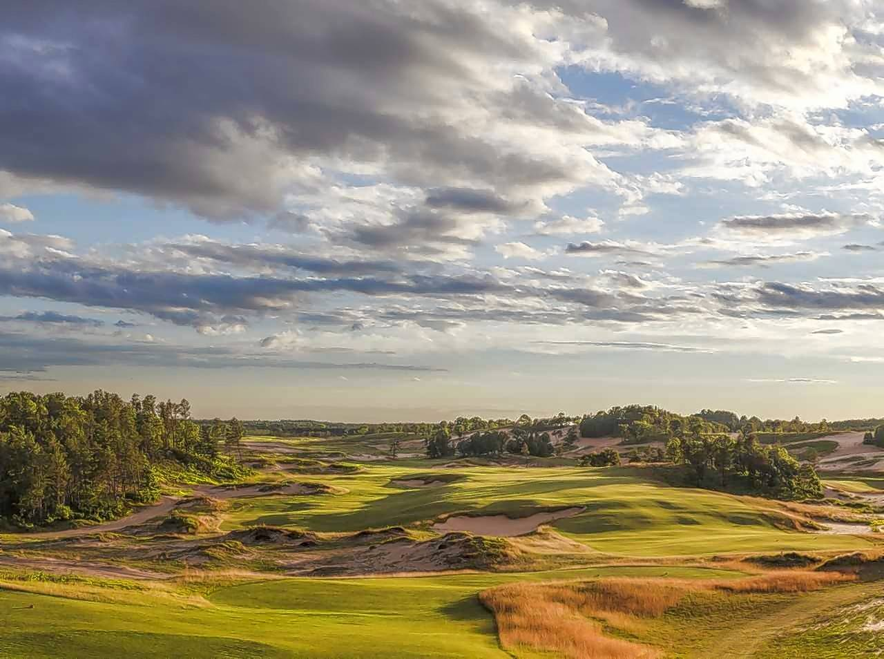 Sand Valley in Nekoosa, Wisconsin, was ranked No. 15 in Golfweek Magazines list of top golf courses.