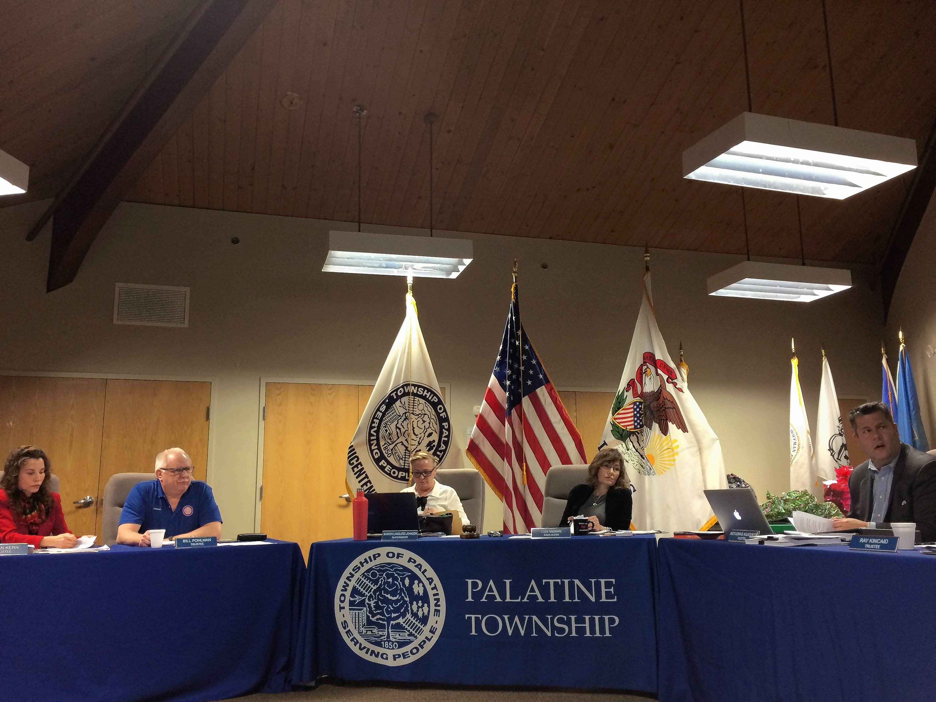 Palatine Township board delays parliamentarian decision