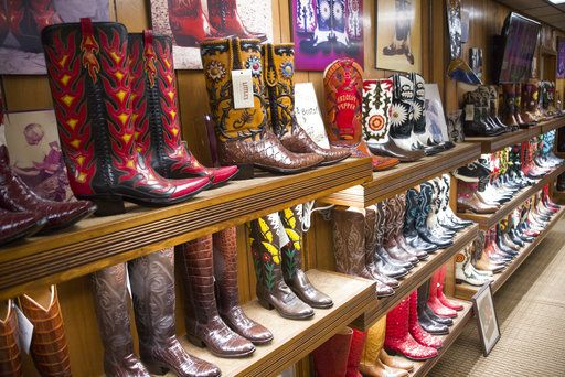 f6365b5713f Cowboy boots are as much a part of San Antonio as the Alamo