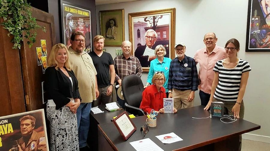 The Ray Bradbury Museum Committee meets to discuss plans to commemorate the legendary author and Waukegan native.