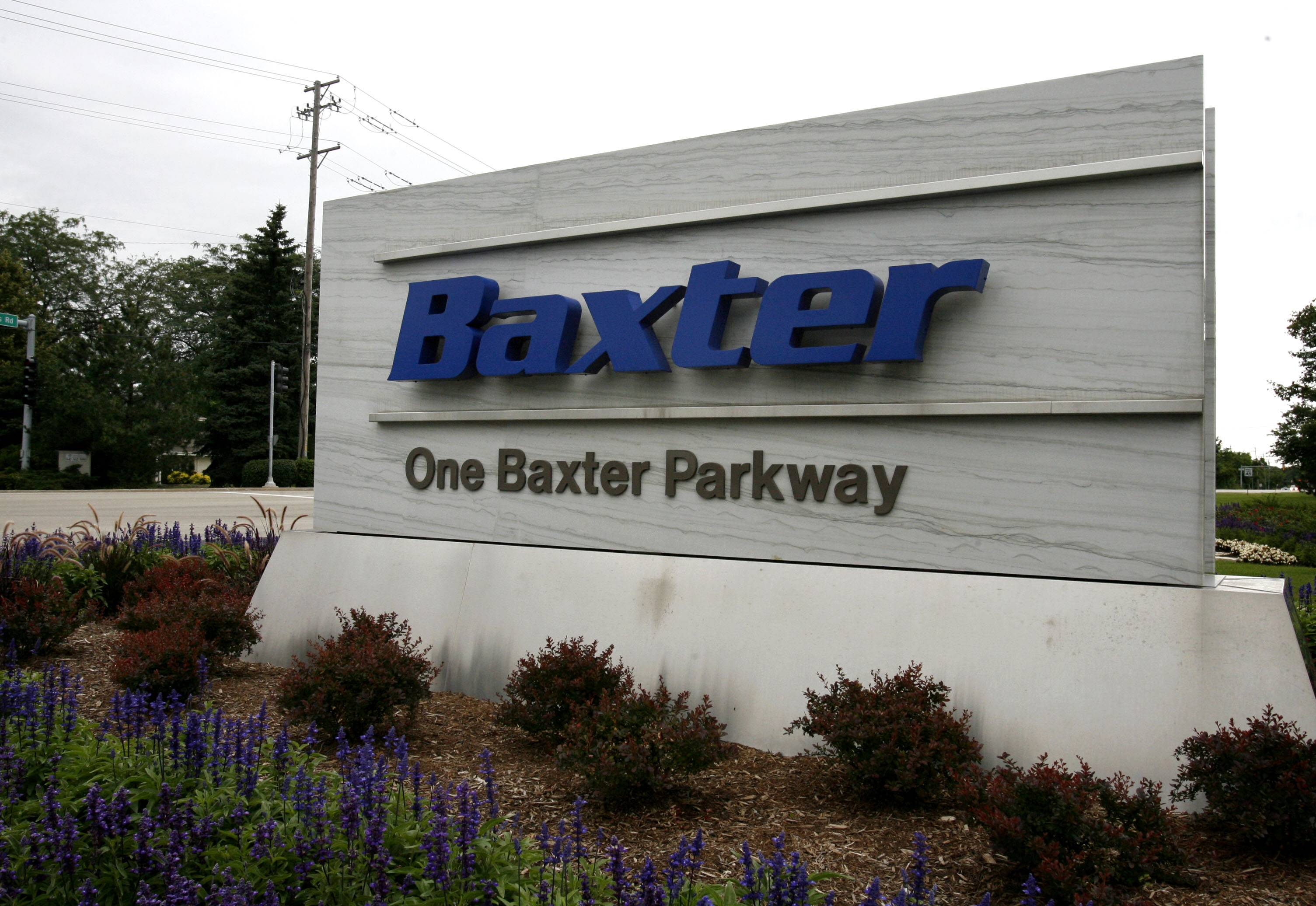 GEORGE LECLAIRE/gleclaire@dailyherald.comA complaint filed in Lake County circuit court asks a judge to immediately stop Deerfield-based Baxter International from discharging contaminants into Long Lake in Round Lake and any tributaries.