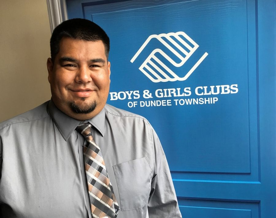 Carpentersville native Mike Contreras was chosen as the new president and CEO of the Boys and Girls Clubs of Dundee Township.
