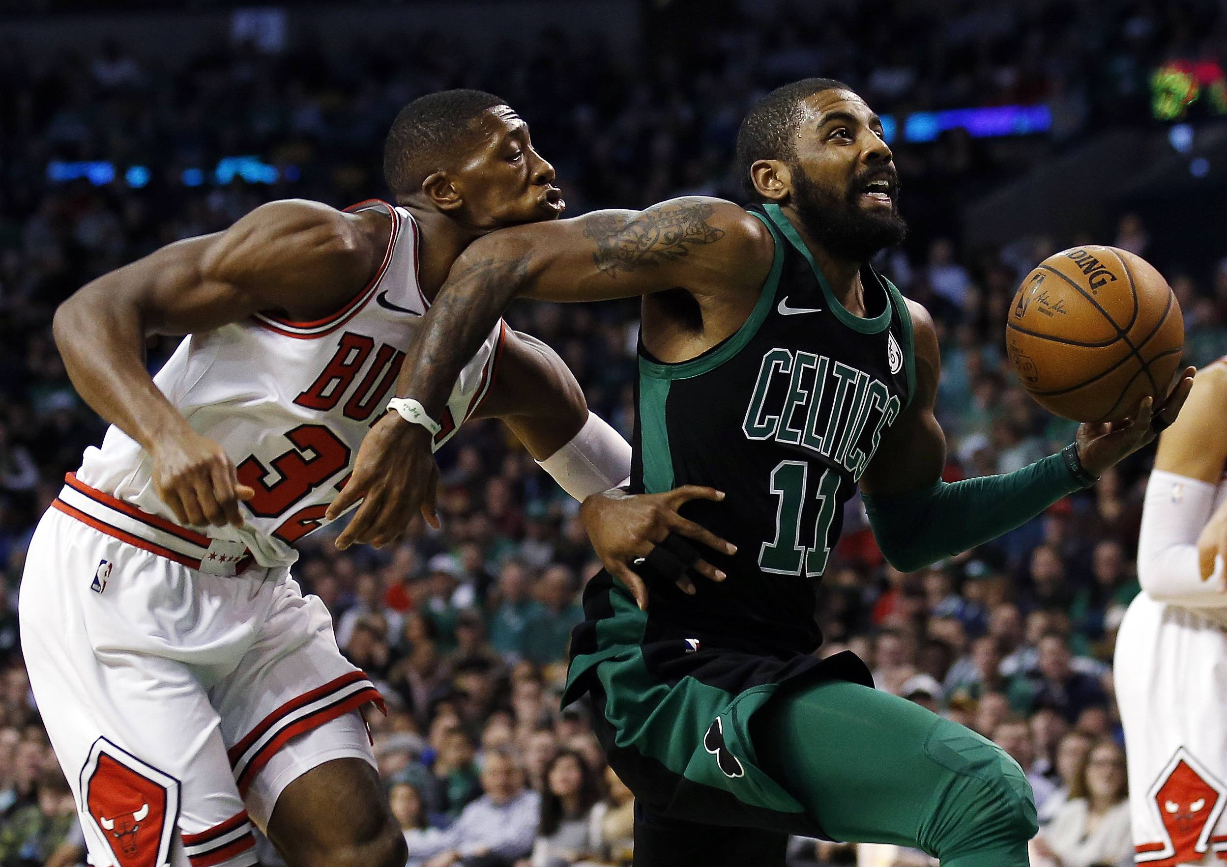 Celtics turn tables, pull away in third quarter to beat Bulls