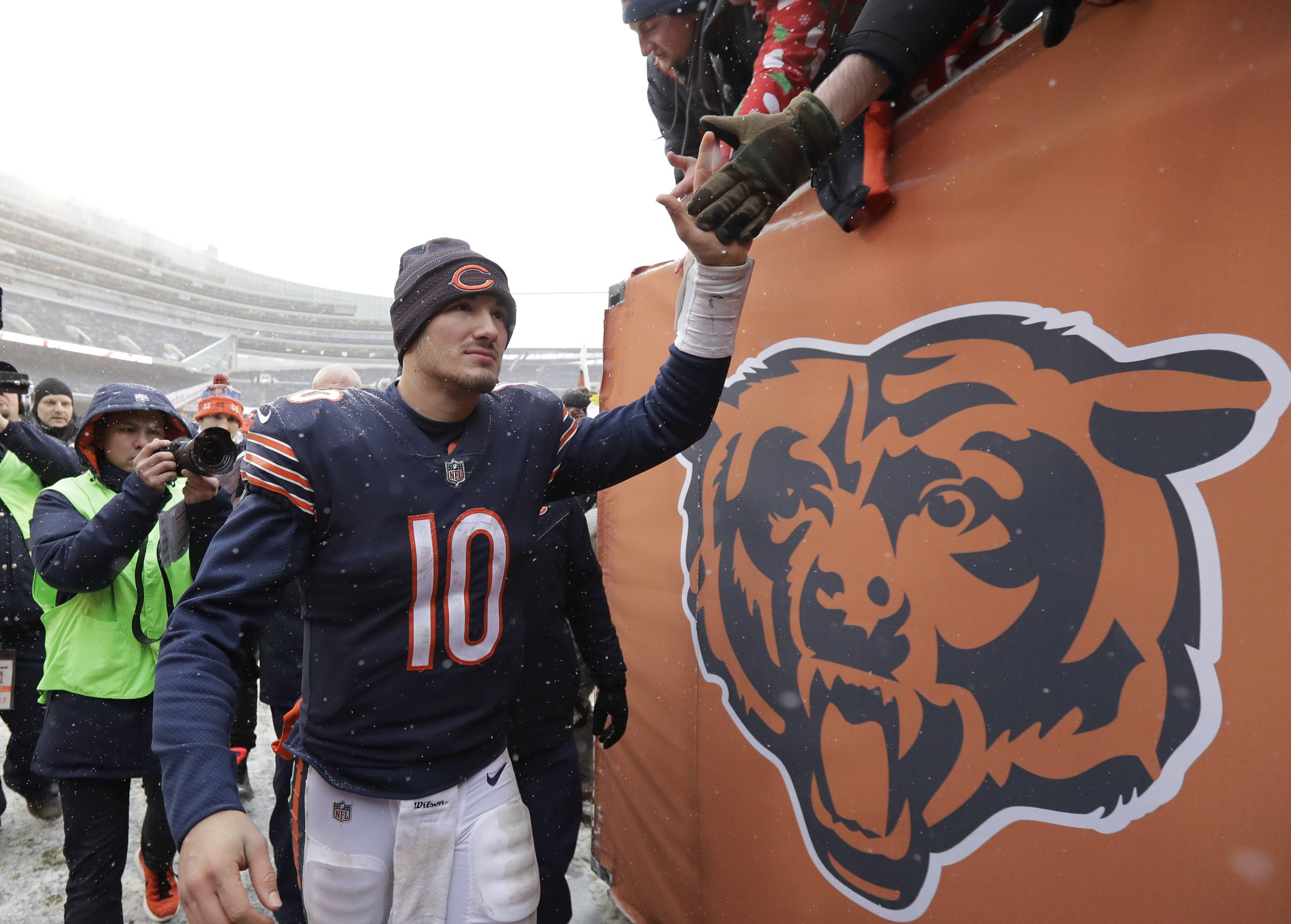 Rozner: Chicago Bears' victory takes back seat to coaching search