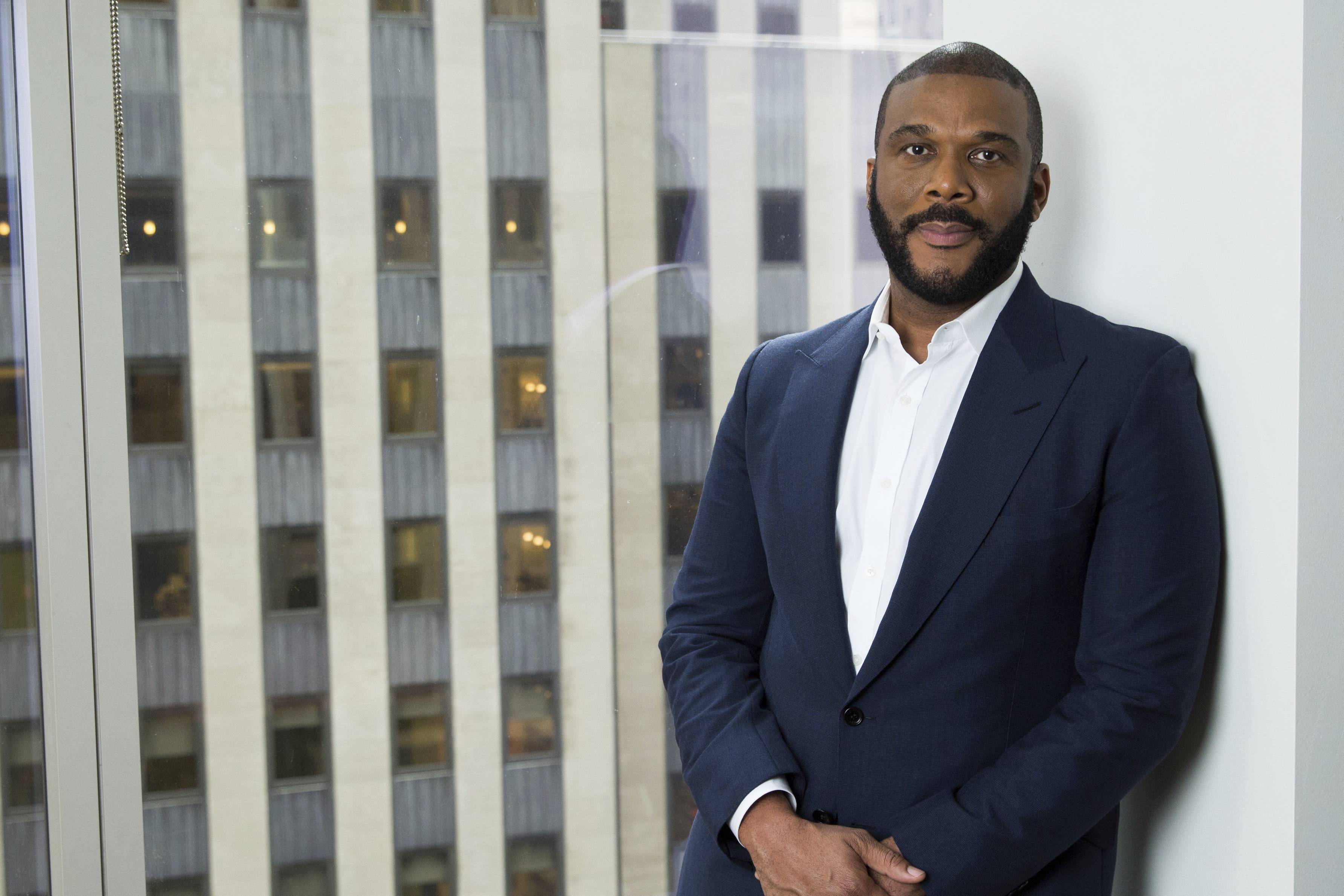 "Actor-filmmaker and author Tyler Perry recently released the book, ""Higher Is Waiting."""