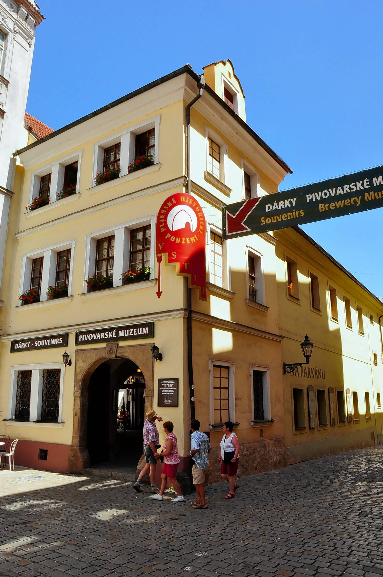 Pilsen's Brewery Museum occupies a 15th-century house a short walk from the Pilsner Urquell Brewery complex.