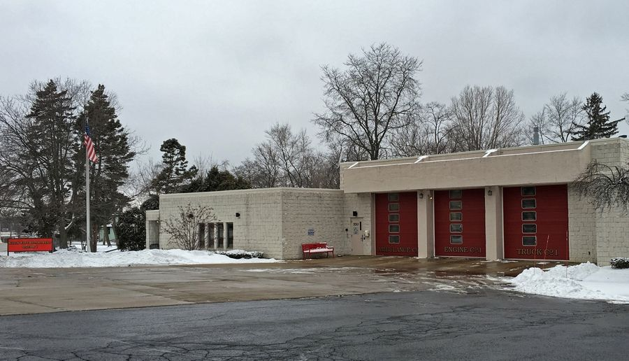 The Elgin fire union wants to stop the city from cutting fire staffing levels until an arbitrator makes a decision. Elgin fire station 1, shown here, and station 2 would be affected, but also get a full-time ambulance.