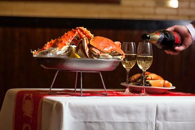 Shaw's Crab House in Schaumburg will toast the New Year with a special brunch.