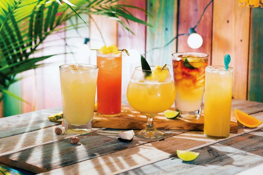 Legendary island cocktails are $2.18 all day on New Year's Eve at Bahama Breeze.