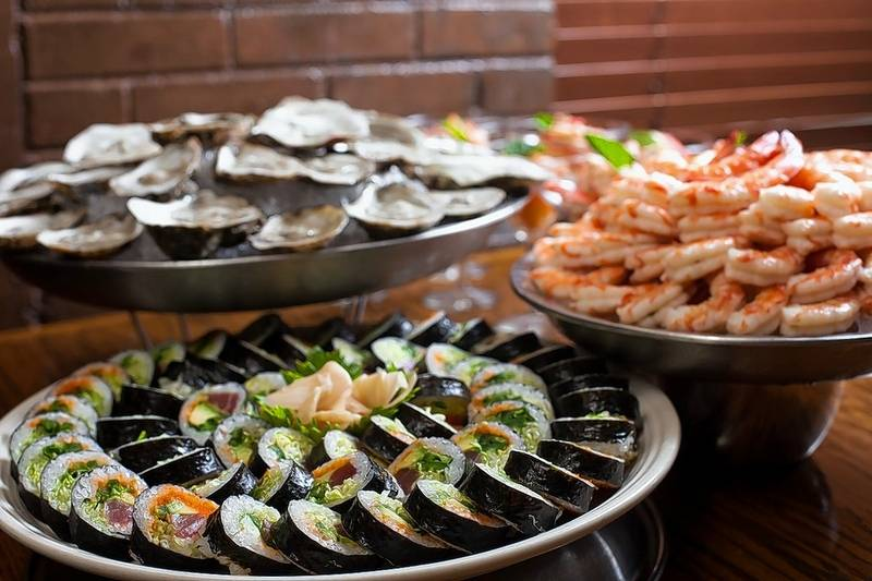 Shaw's Crab House offers a bounty of seafood options during its New Year's Eve brunch.