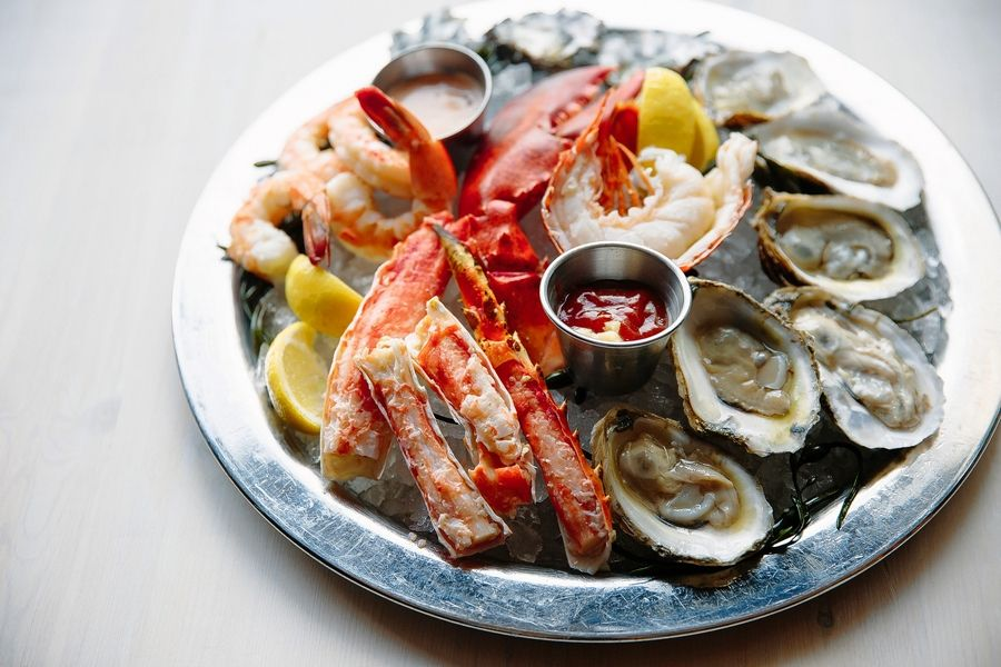 The seafood brunch buffet will be available from 10 a.m. to 3 p.m. on New Year's Eve at Reel Club in Oak Brook.