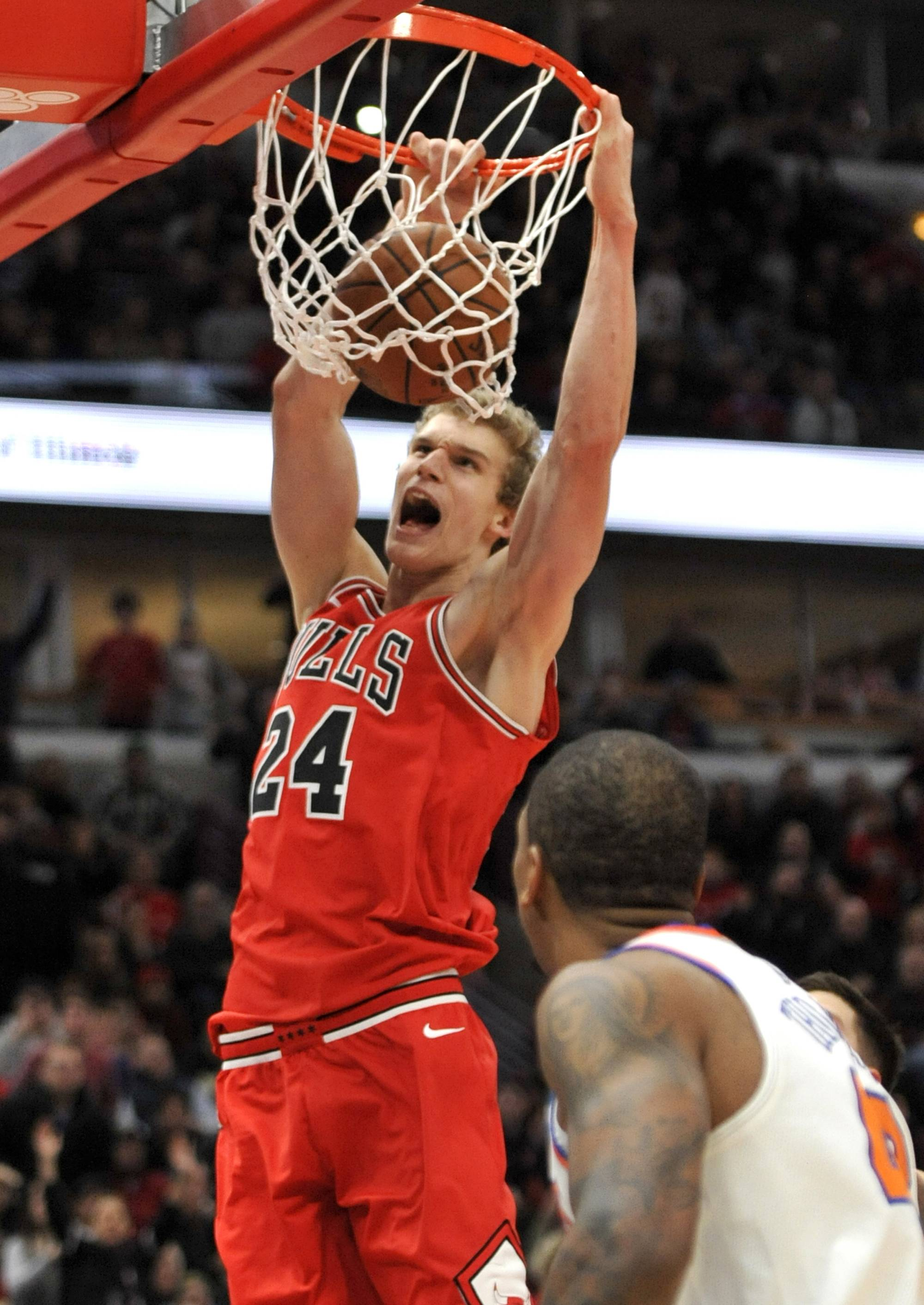 Markkanen gets best of Euro rivals as Chicago Bulls beat Knicks