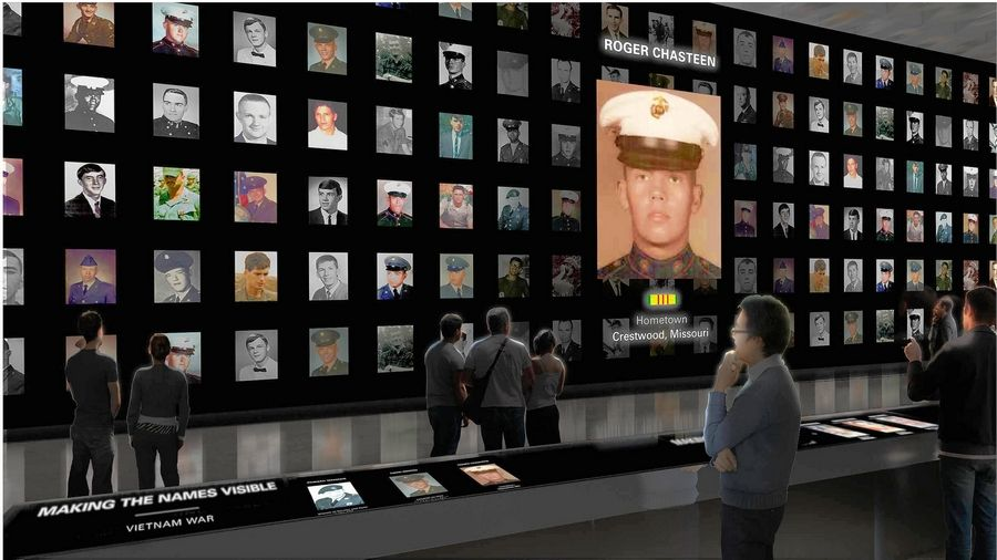 "The Vietnam Veterans Memorial Fund is gathering photos of fallen service members for an exhibit in a proposed $130 million education center near the monument in Washington, D.C. There are more than 300 photos of Illinois natives still needed for the ""Wall of Faces"" project."