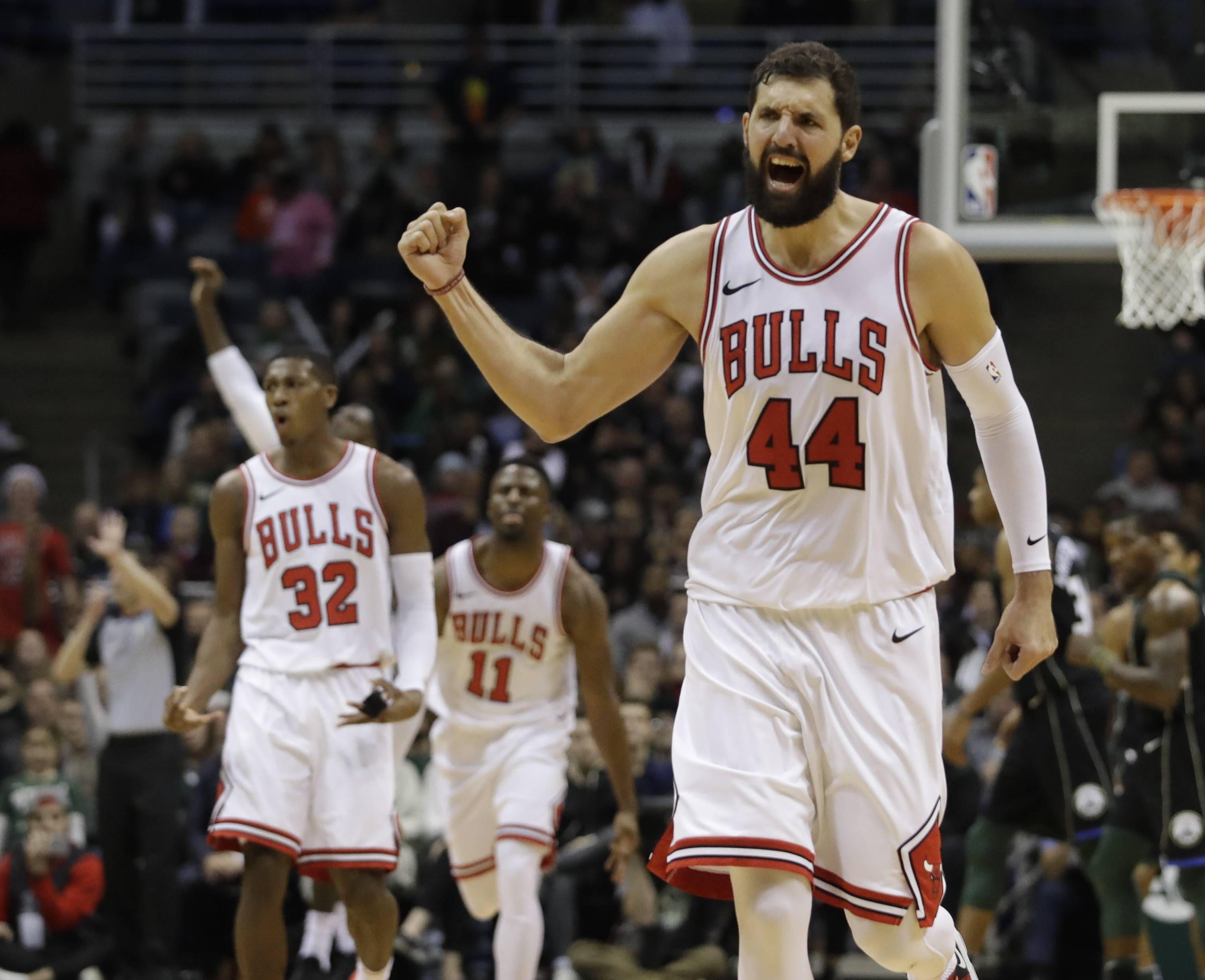 Chicago Bulls' Nikola Mirotic has been a key factor in the recent roll the Bulls have been on, averaging 18.1 points and shooting 48 percent from 3-point range this season.