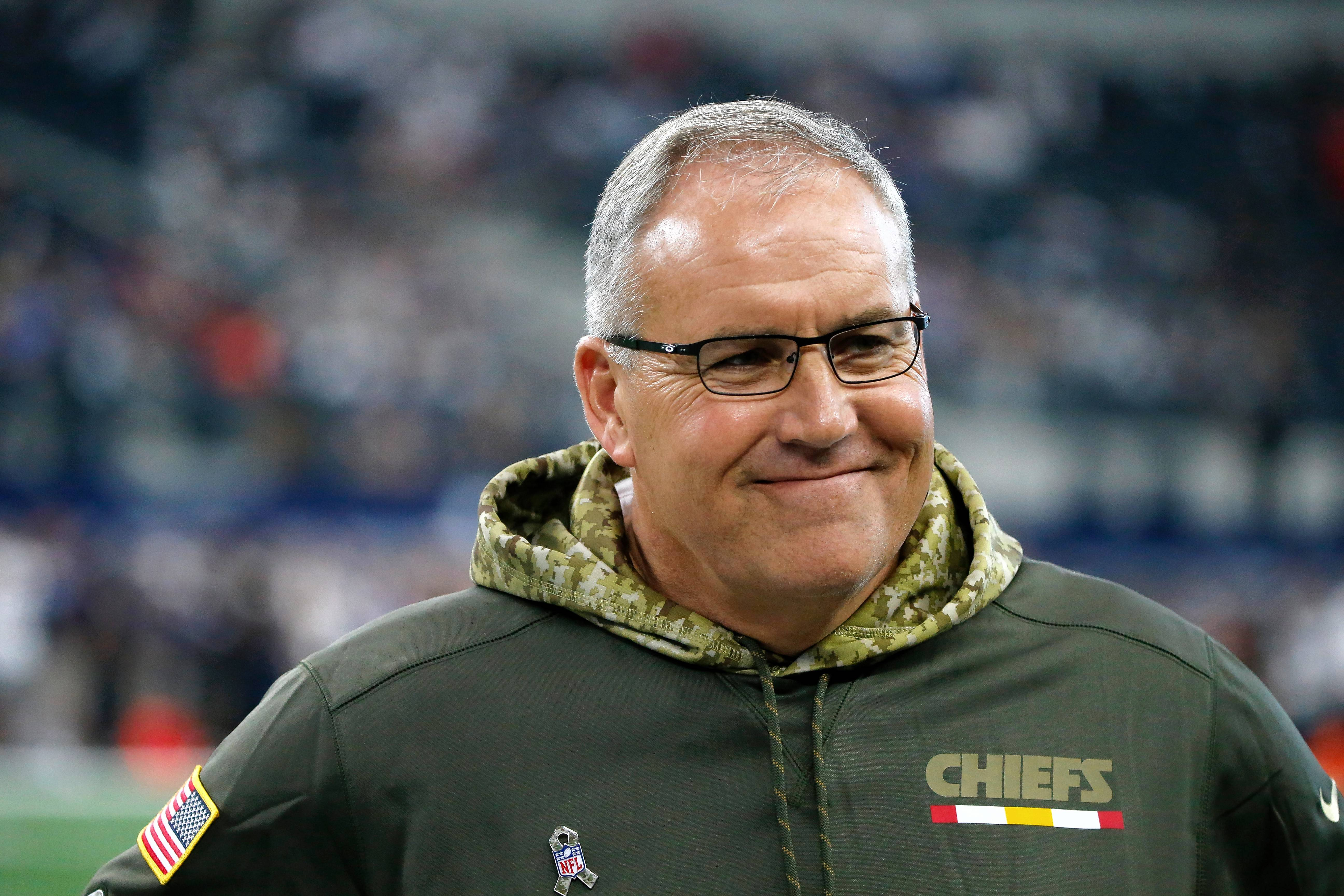 Kansas City Chiefs Special Teams Coordinator Dave Toub is rumored to be a top candidate for the Indianapolis Colts head coaching job.
