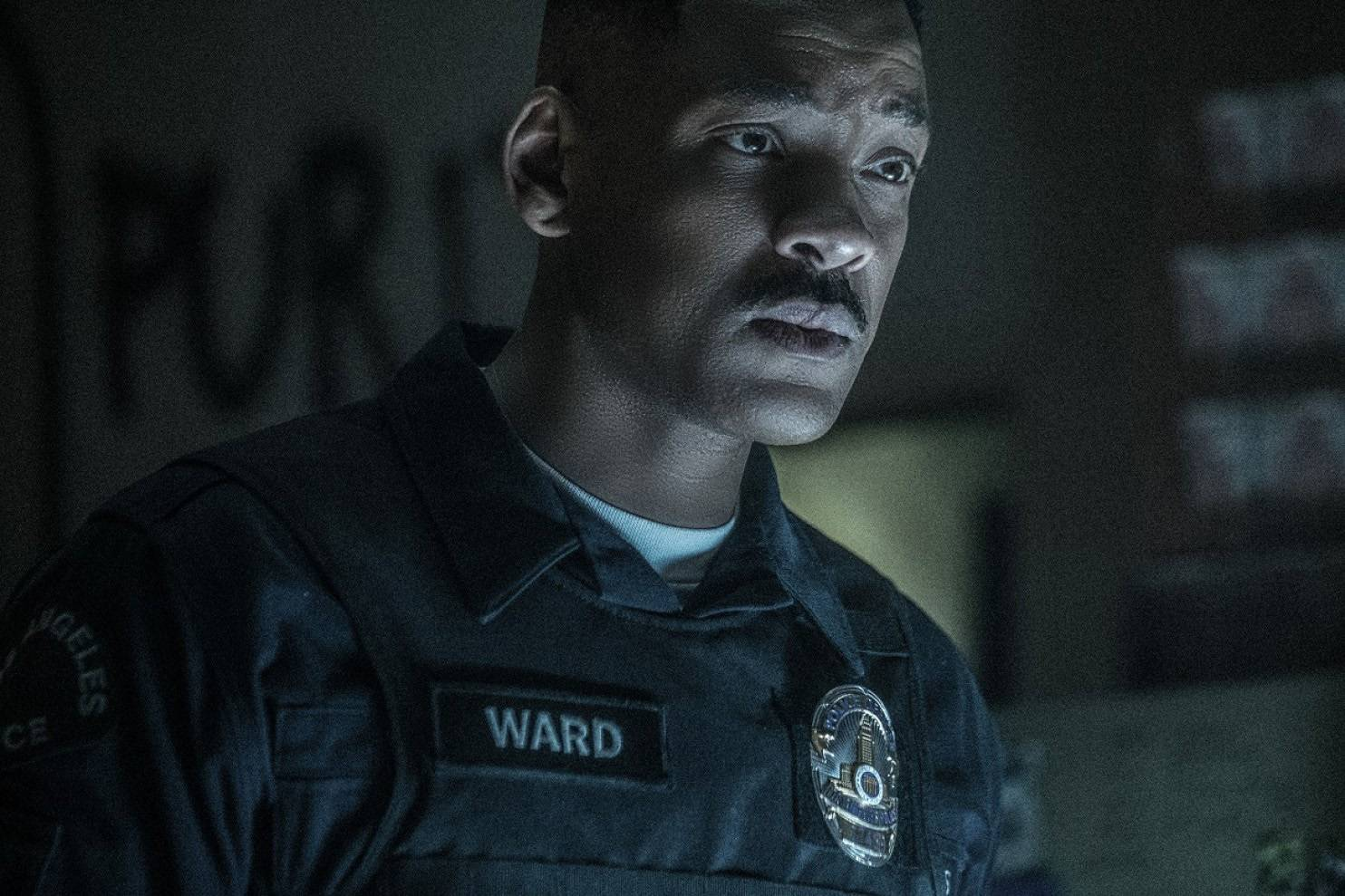 "Will Smith stars in ""Bright."""