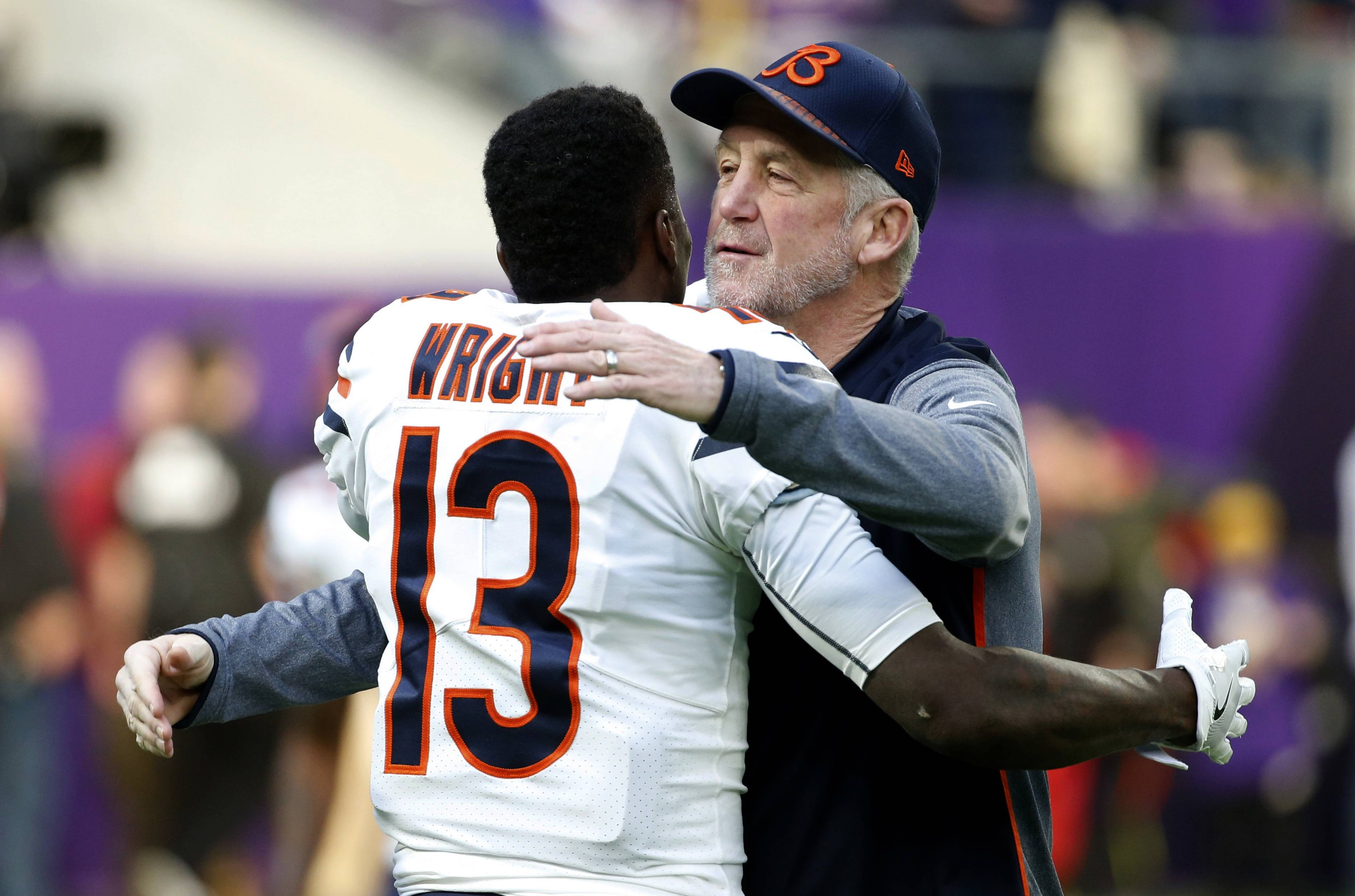 Images: Bears lose to the Vikings in the final game of the season