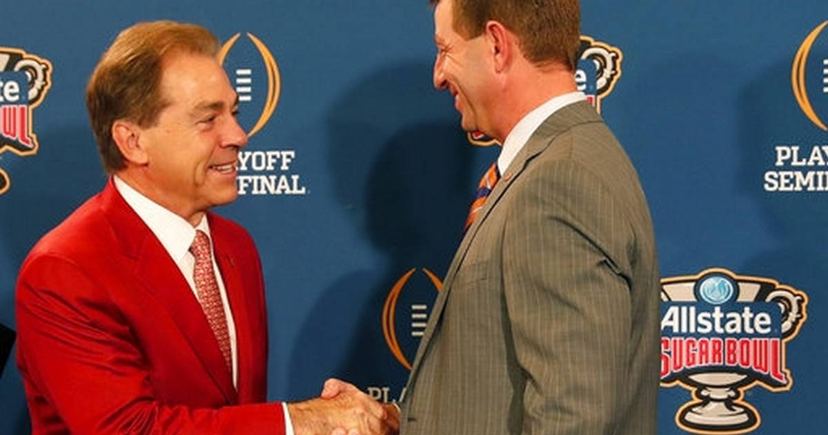 Alabama–Clemson football rivalry