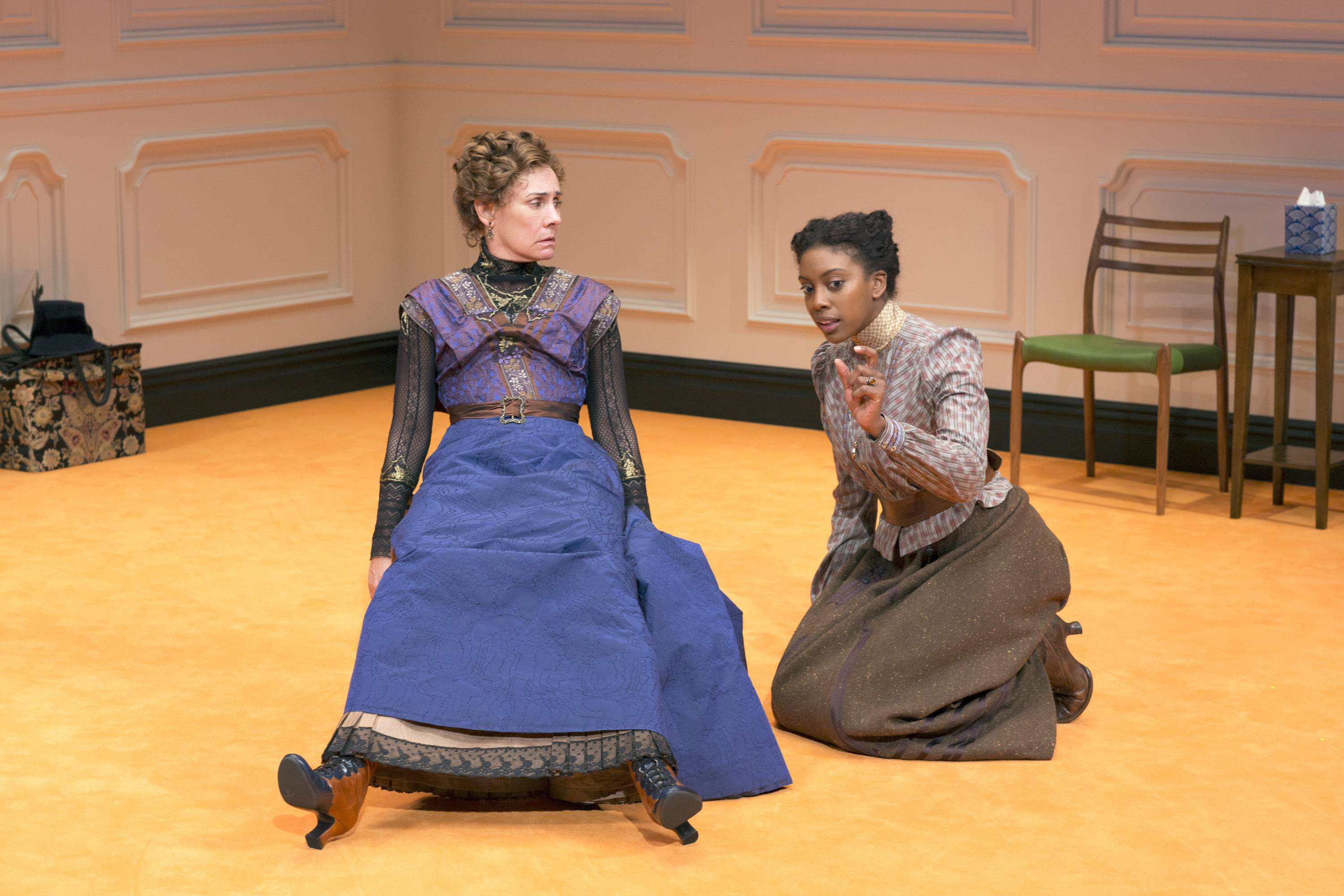 "Former Steppenwolf Theatre member Laurie Metcalf, left, and Condola Rashad star in ""A Doll's House, Part 2,"" which was shuttered almost immediately after the stars left the production and were replaced by less well-known players."