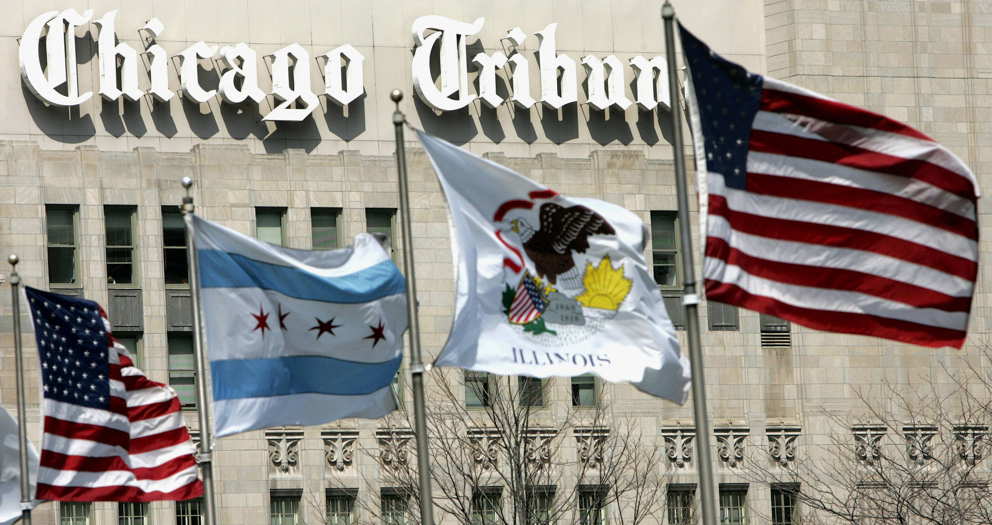 The Chicago Tribune is leaving Tribune Tower in 2018.