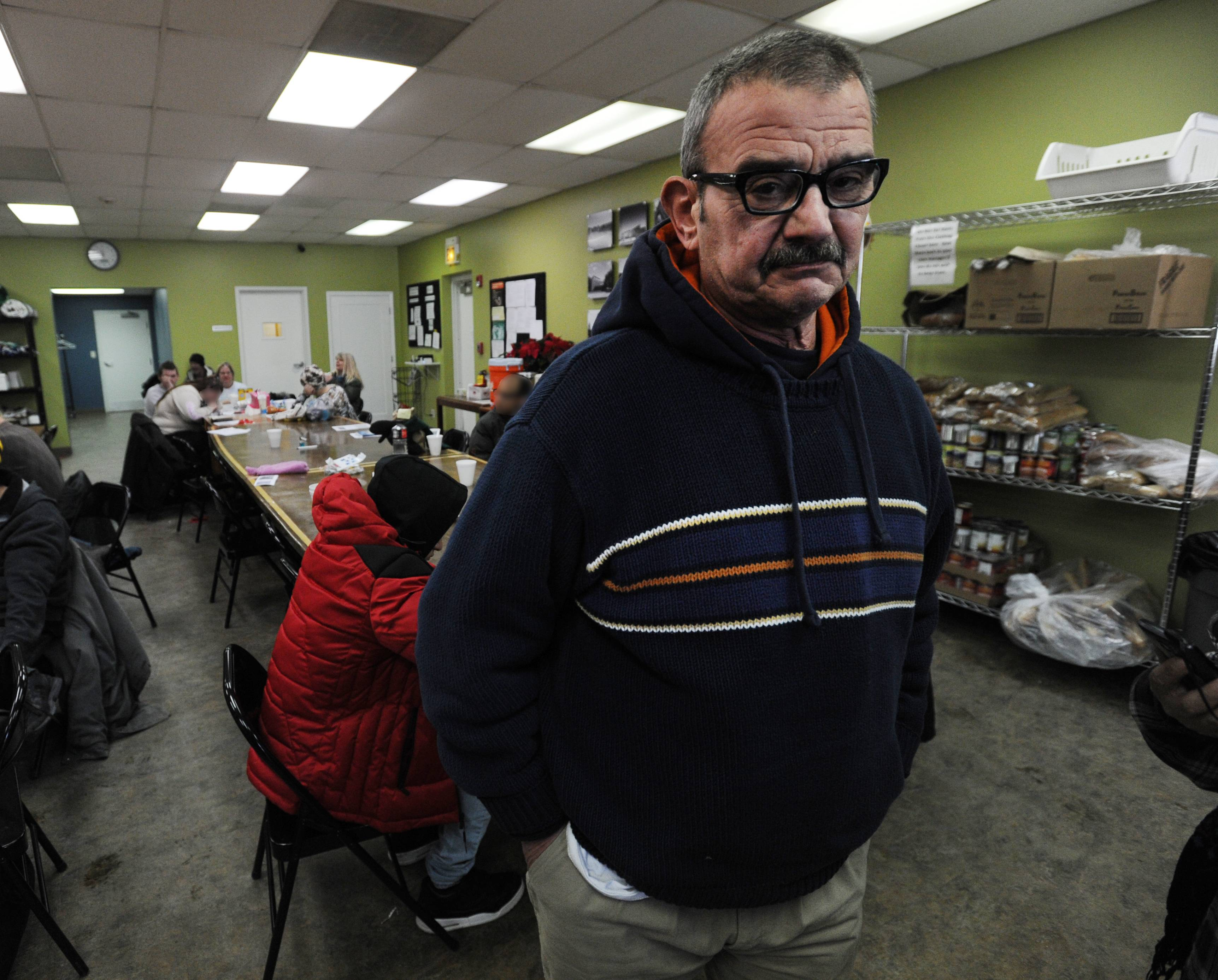 Suburban warming centers open, but crowds sparse