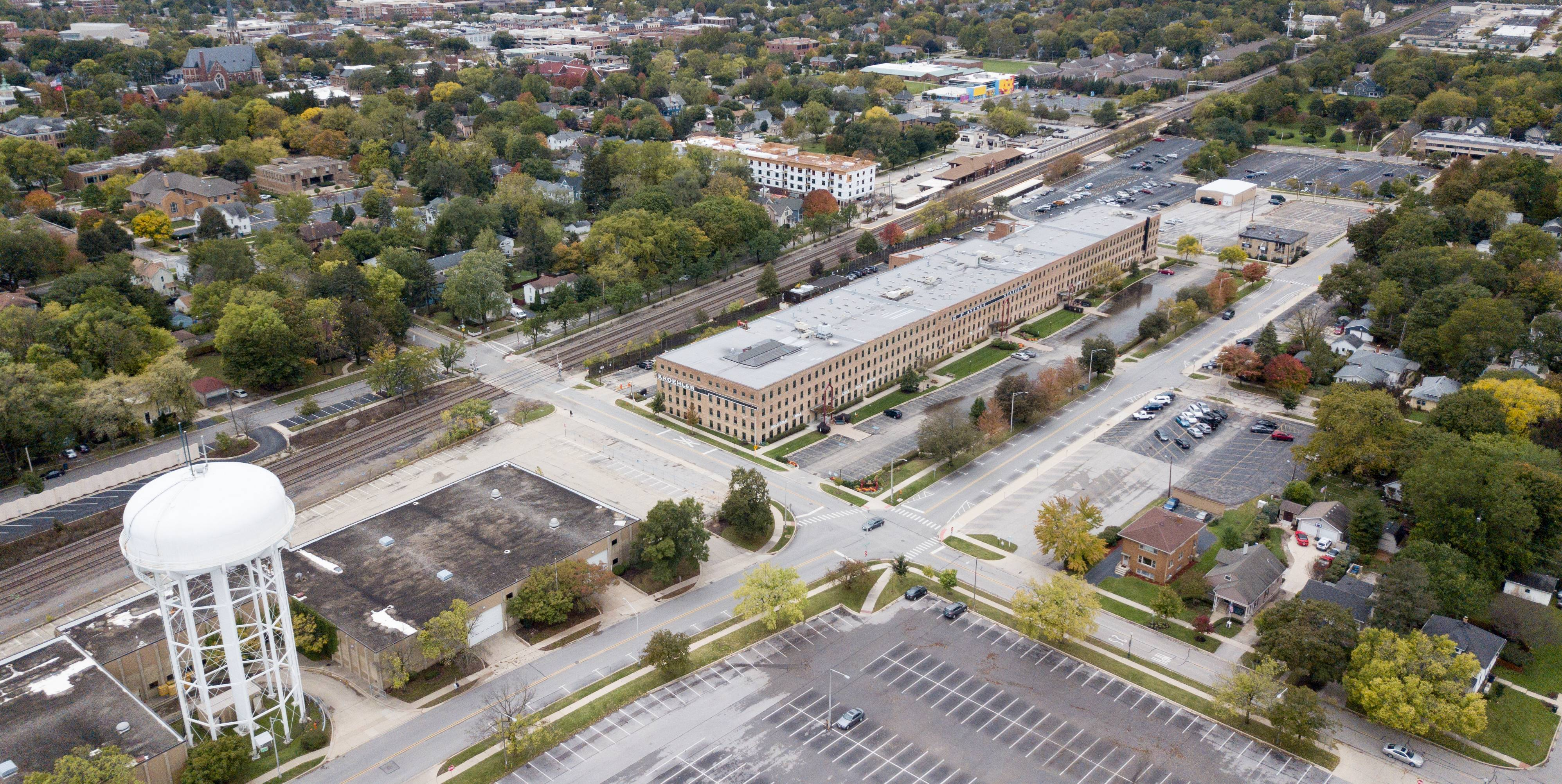 One of the biggest issues of the new year in Naperville will involve the re-imagining of the 5th Avenue corridor, which includes 13 acres of city-owned land by the Naperville Metra station.
