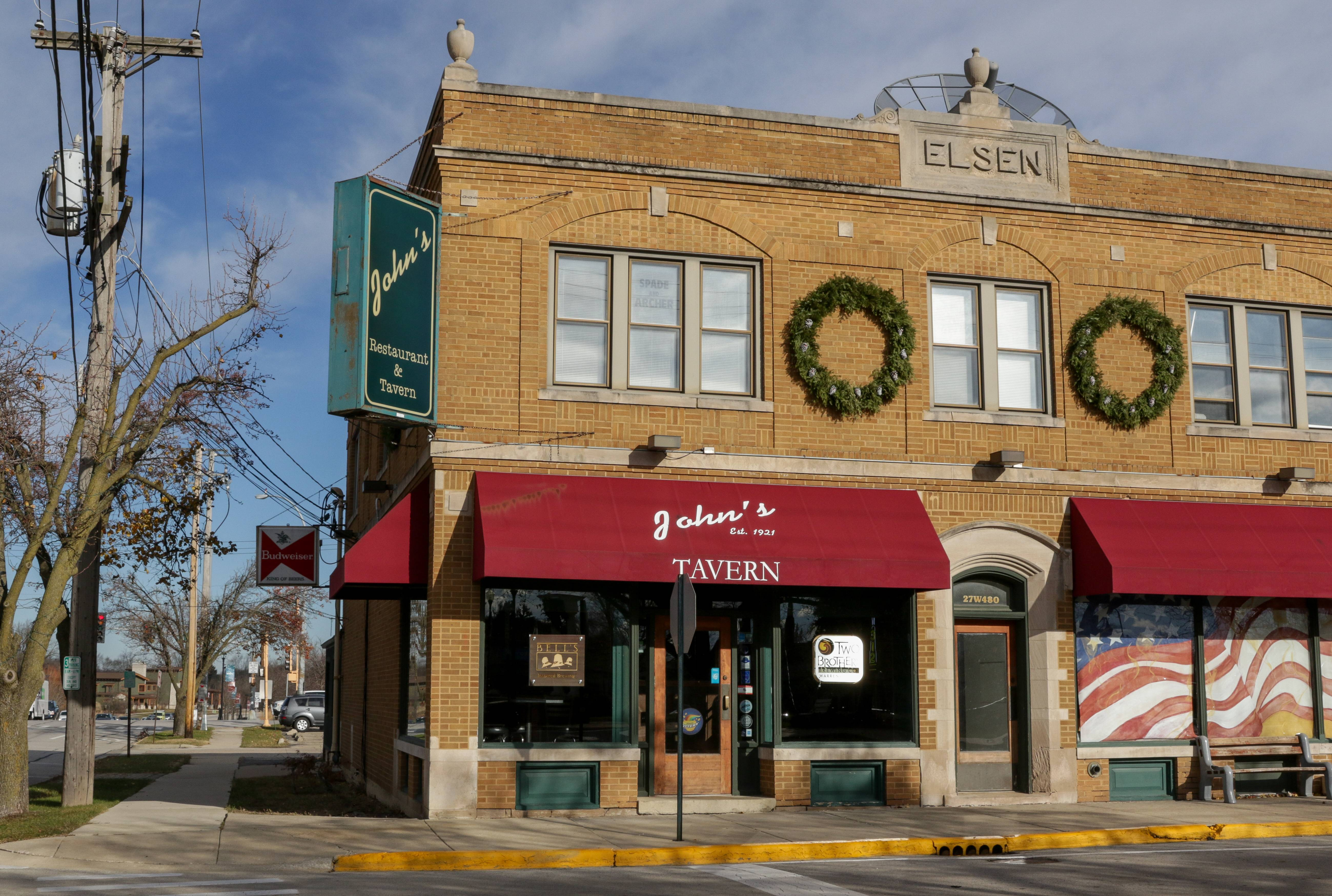 The closing of John's Tavern, one of Winfield's oldest businesses, sets the stage for the redevelopment of the village's Town Center.