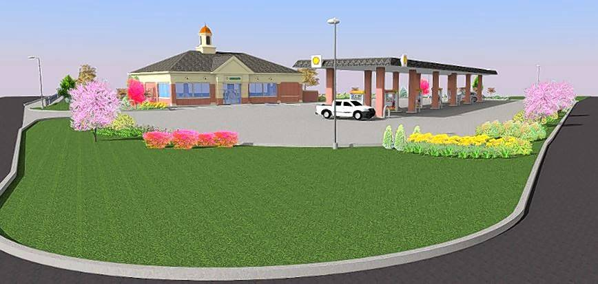 Lake Zurich Trustees Say Proposed Gas Station Looks