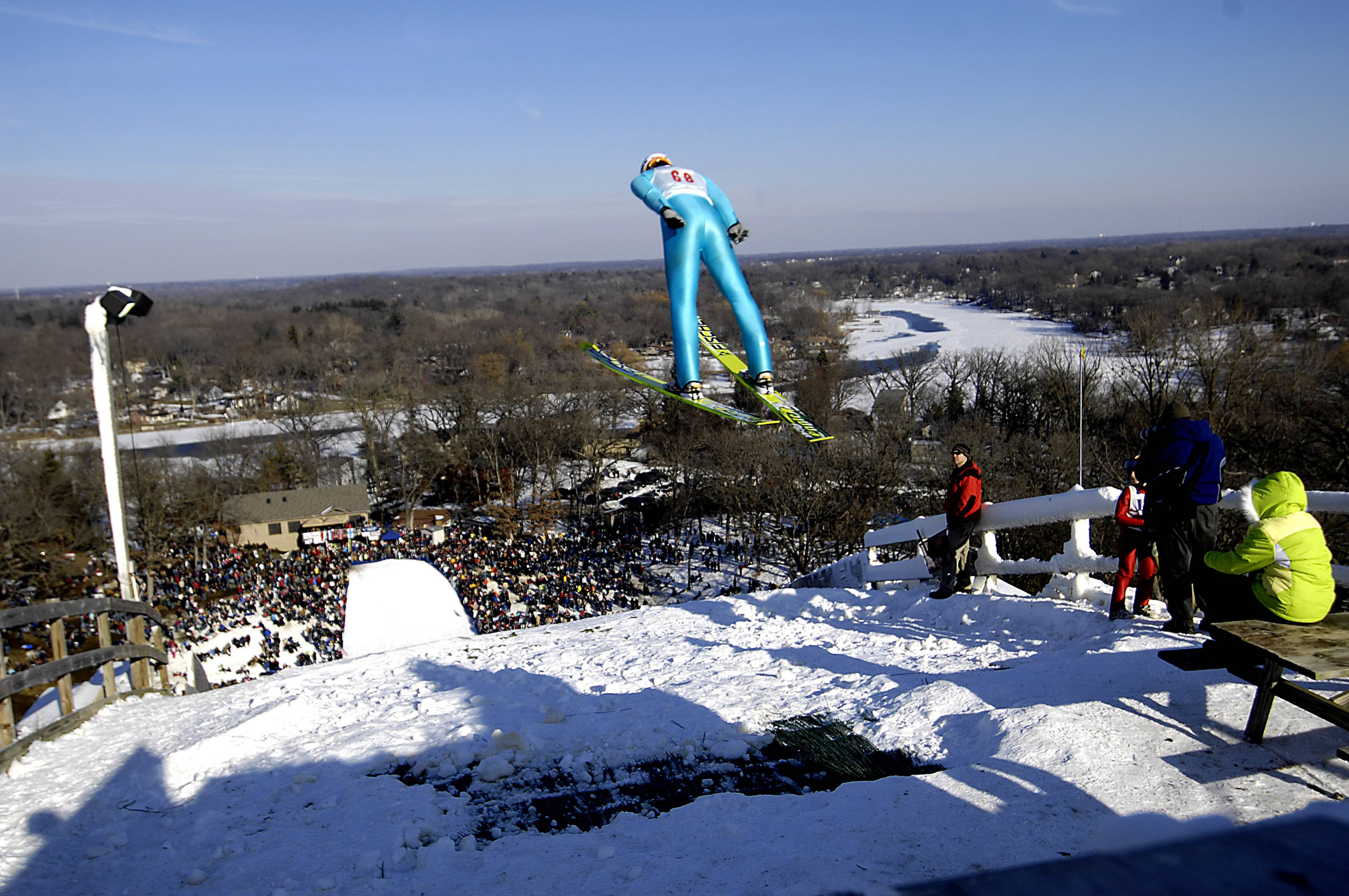 Some of the top American ski jumpers hail from the suburbs and learned their craft at the Norge Ski Club in Fox River Grove. Club member Michael Glasder of Cary qualified for the U.S. Olympic team over the weekend, and he soon could be joined by three more Norge jumpers.
